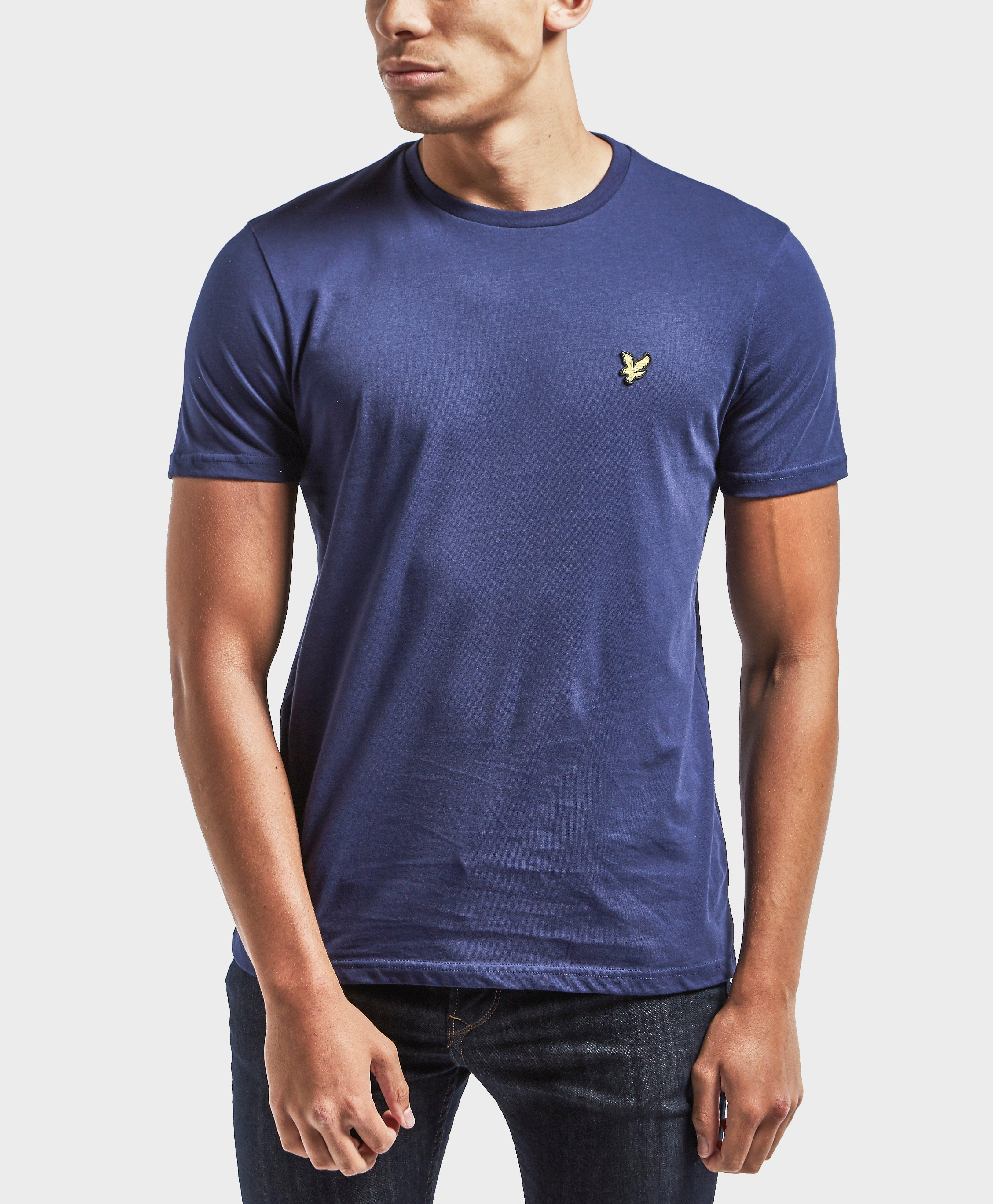 ee46397db Lyle & Scott Crew Neck T-shirt in Blue for Men - Lyst