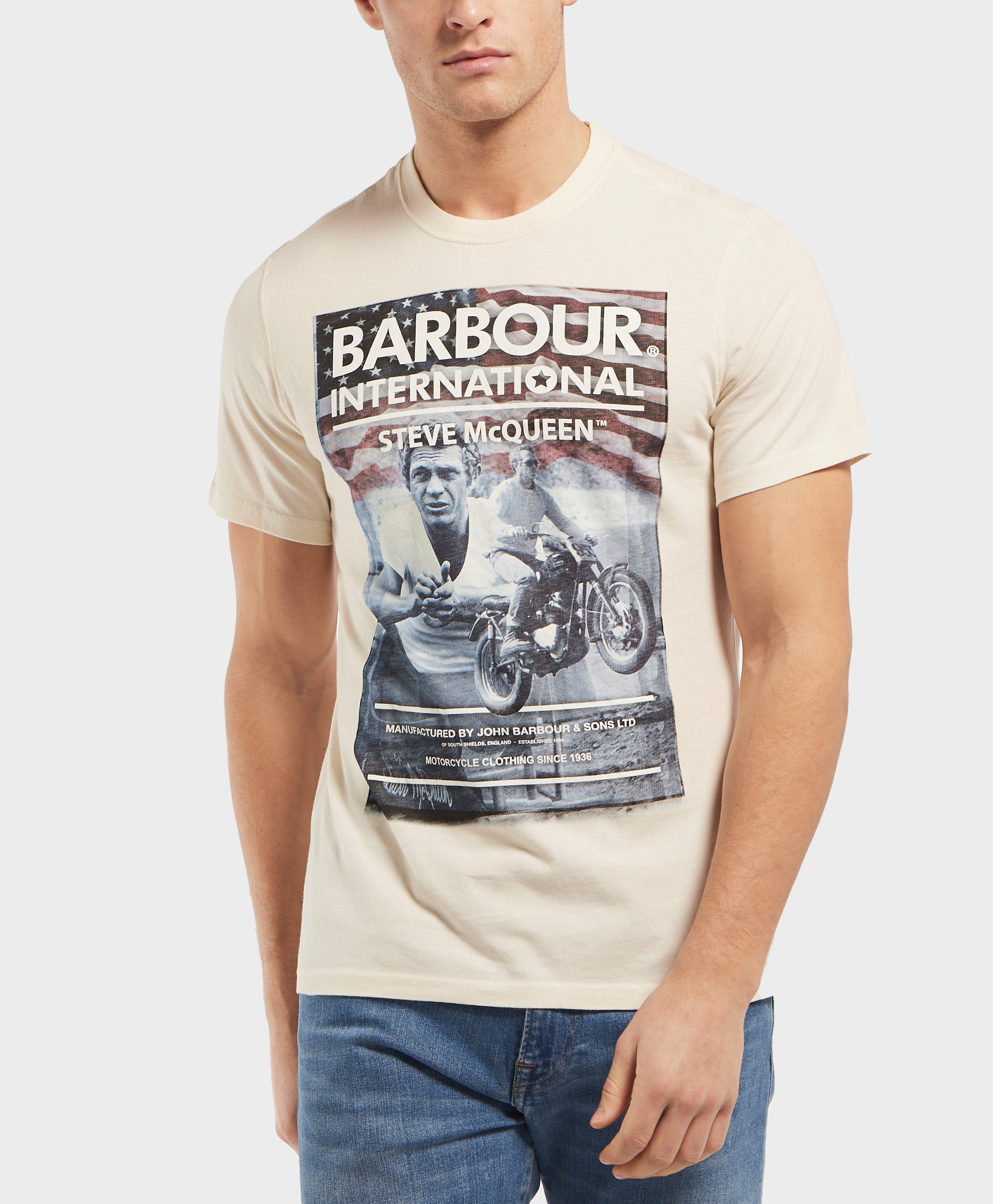 8bf40eb0f84 Lyst - Barbour International Steve Hero Short Sleeve T-shirt for Men