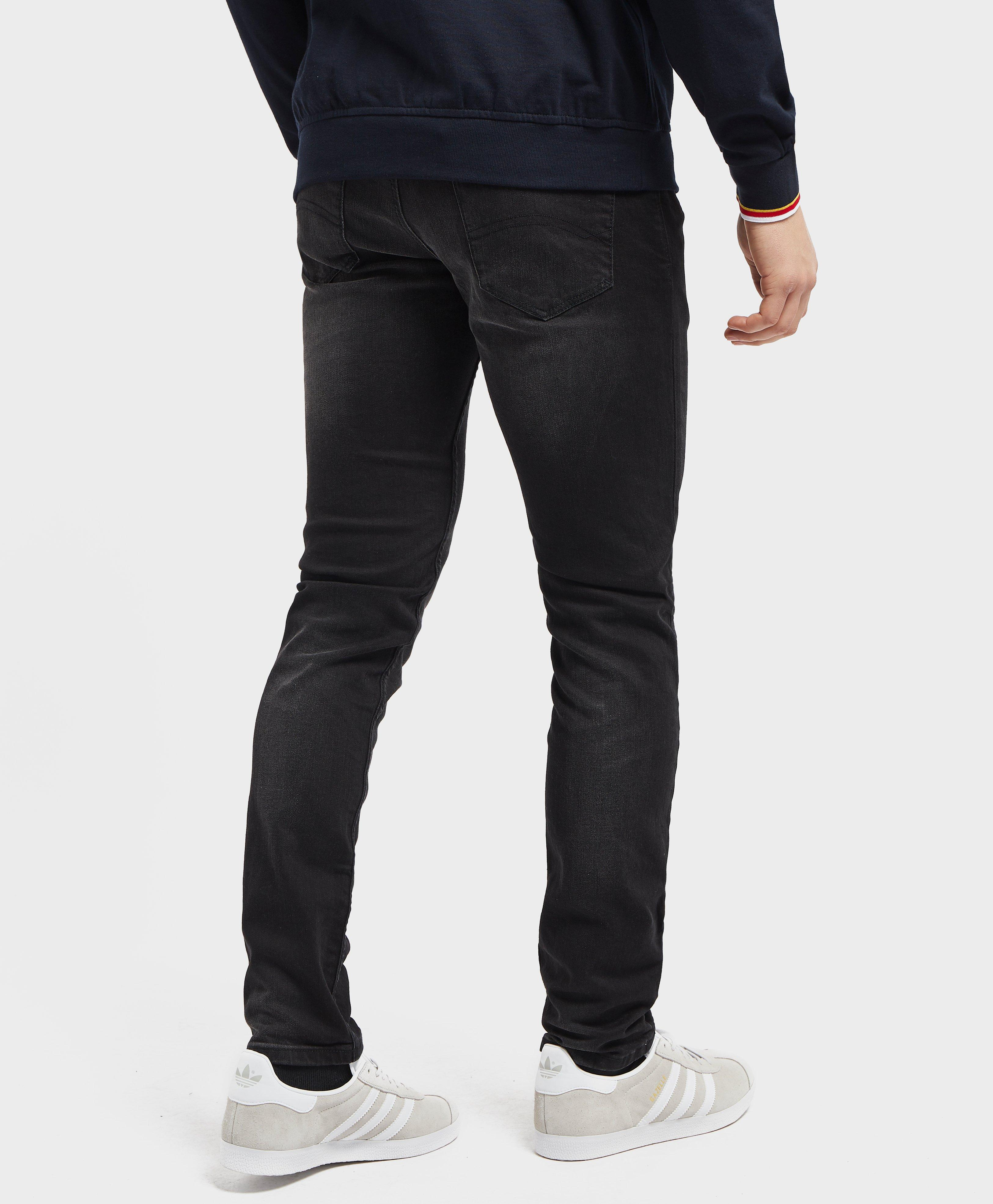 4a8134278 Lyst - Tommy Hilfiger Slim Steve Jeans in Black for Men