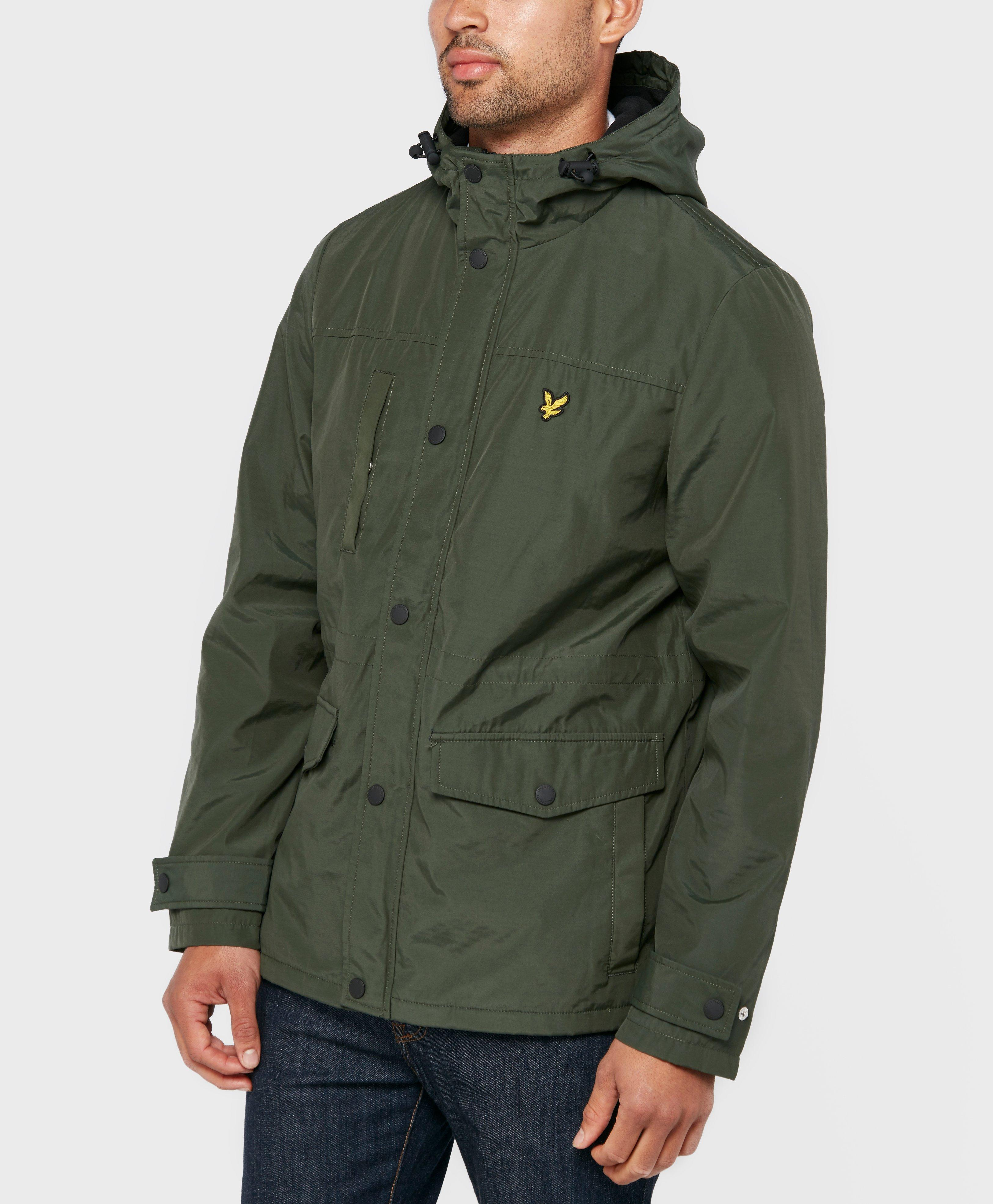 lyle scott fleece line lightweight jacket in green for men lyst. Black Bedroom Furniture Sets. Home Design Ideas