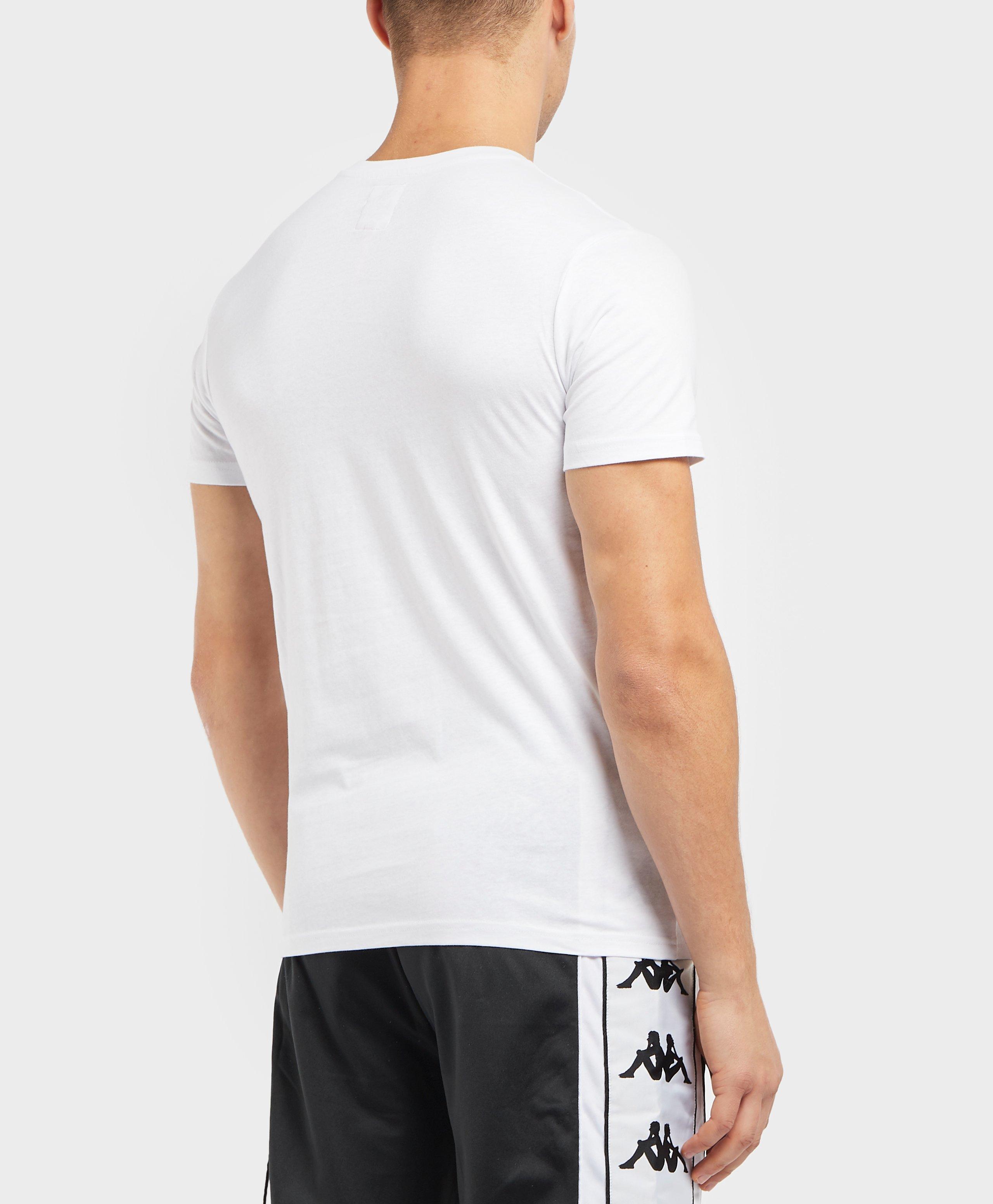 e782d913015e Kappa Authentic Logo Short Sleeve T-shirt in White for Men - Lyst