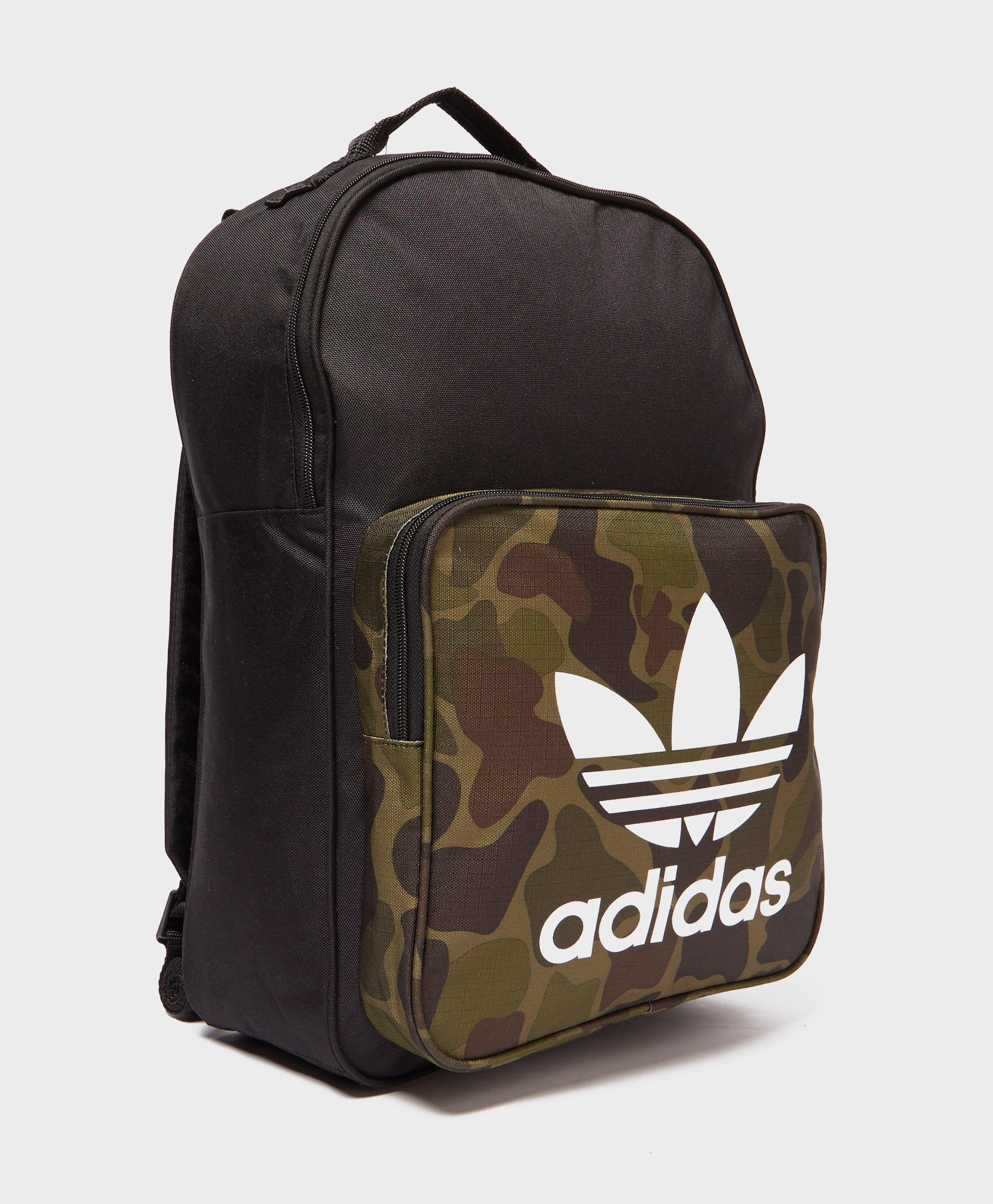 new york 21c3a 3c350 Adidas Originals Classic Camo Backpack for Men - Lyst