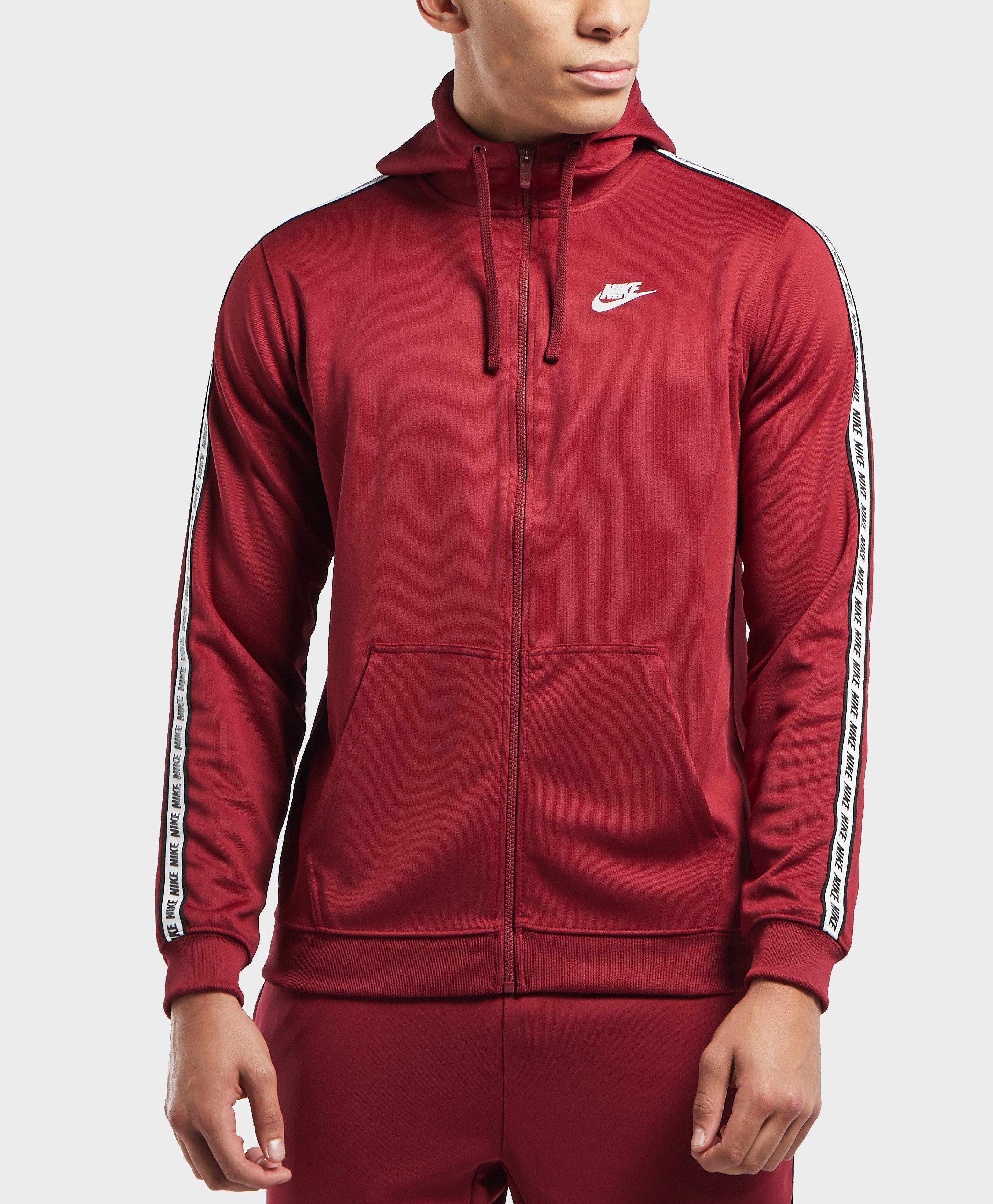 dda1258e4b Nike Gel Tape Full Zip Hoodie in Red for Men - Lyst