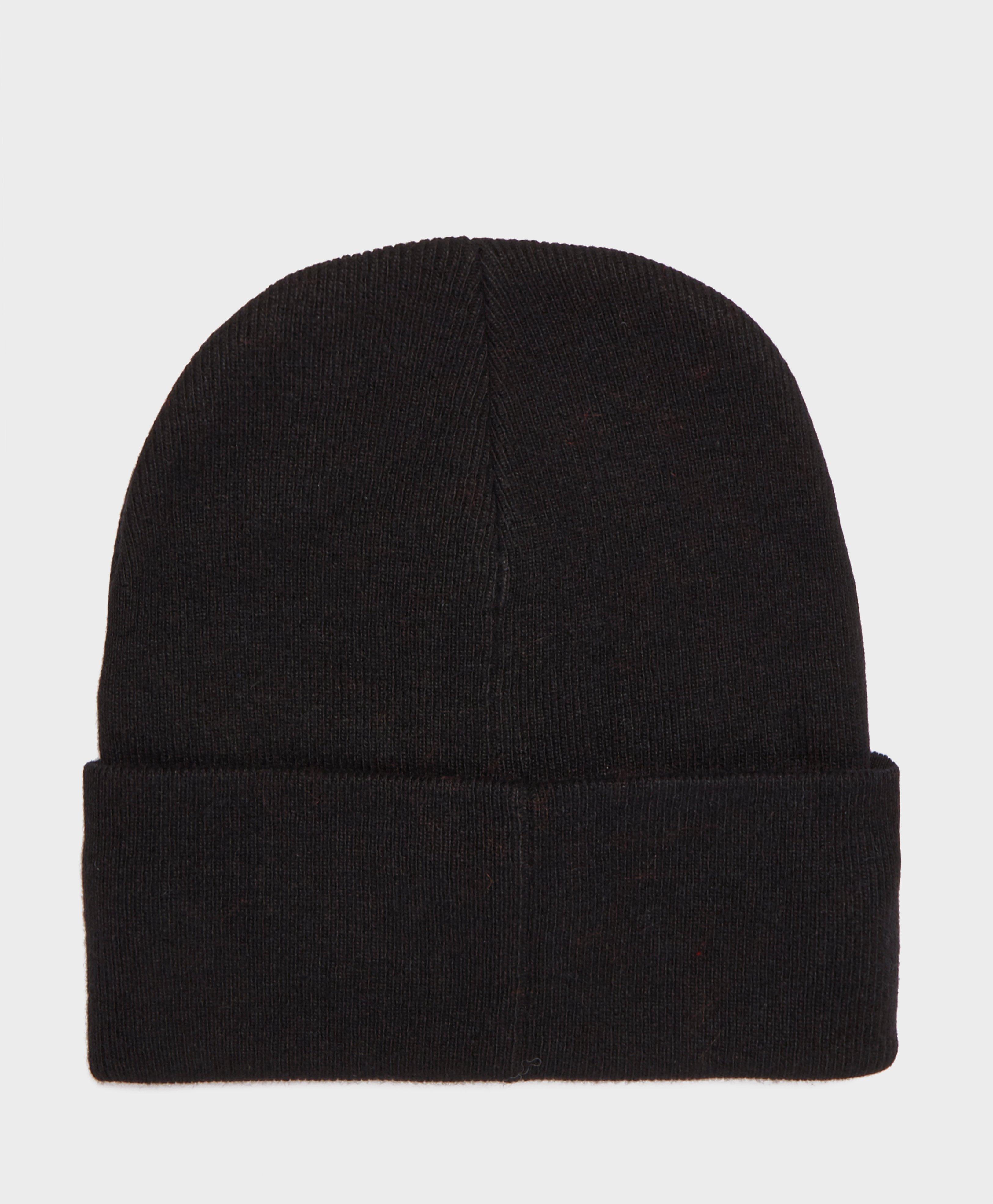 a0d533b330a692 Lyst - Calvin Klein Logo Beanie in Black for Men - Save 46.666666666666664%