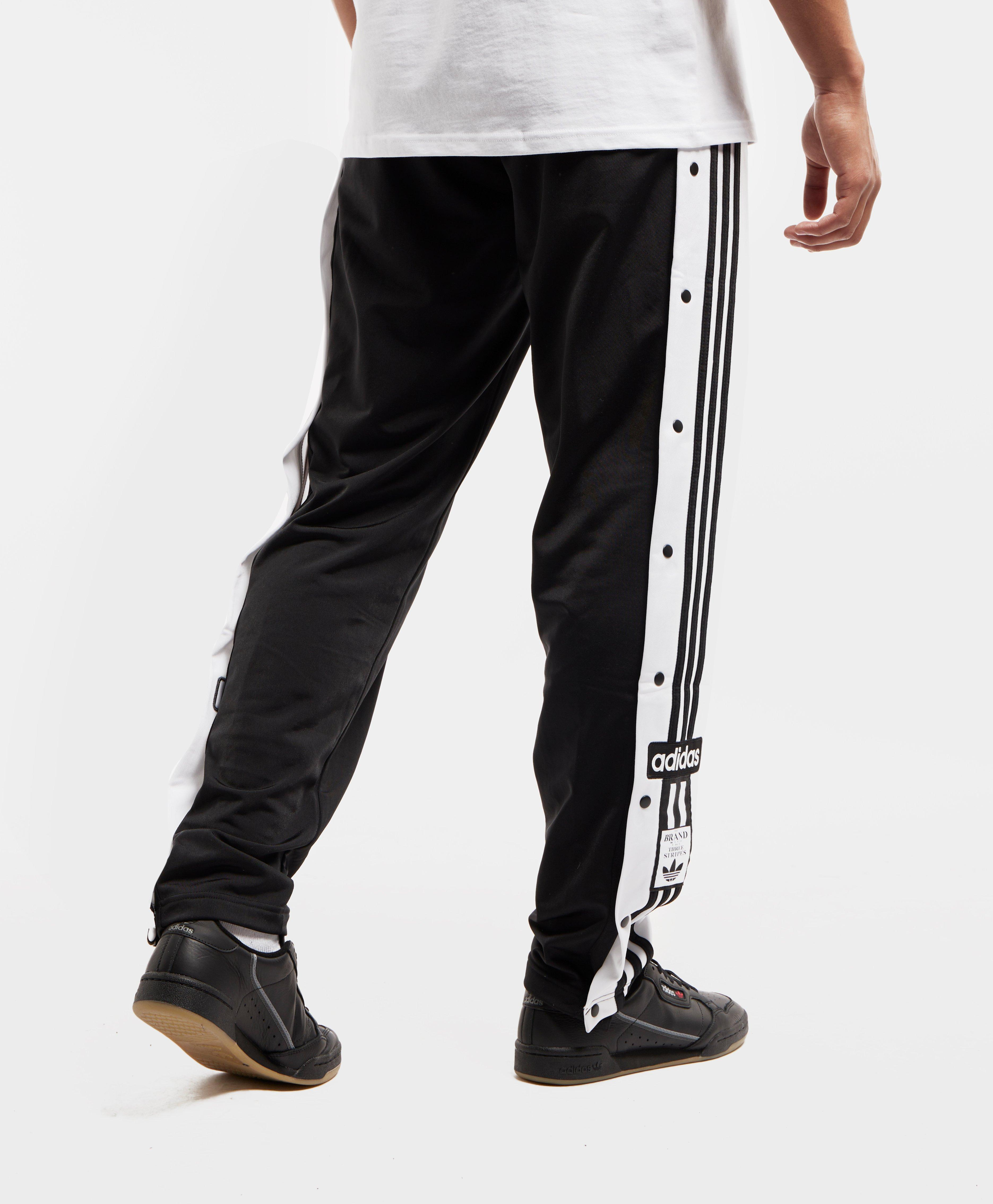 74e8209d32d0 Lyst - adidas Originals Adi Snap Button Track Pants in Black for Men