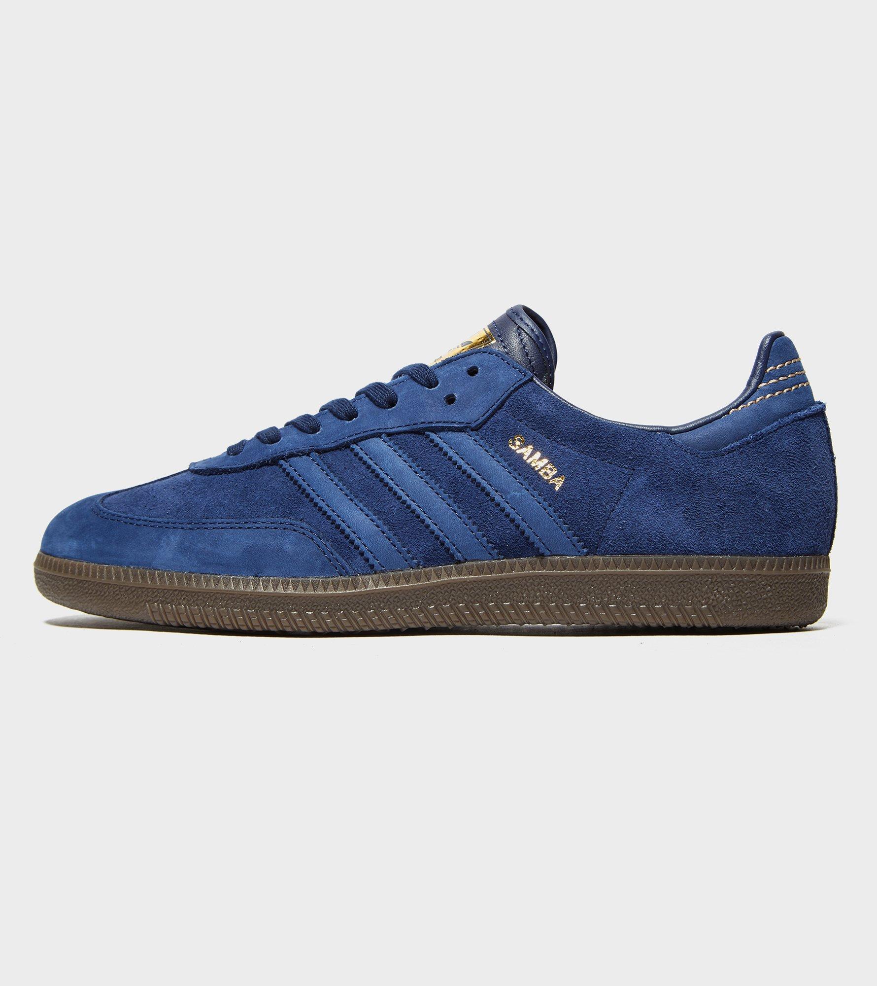 adidas Originals. Men's Blue Samba Fb