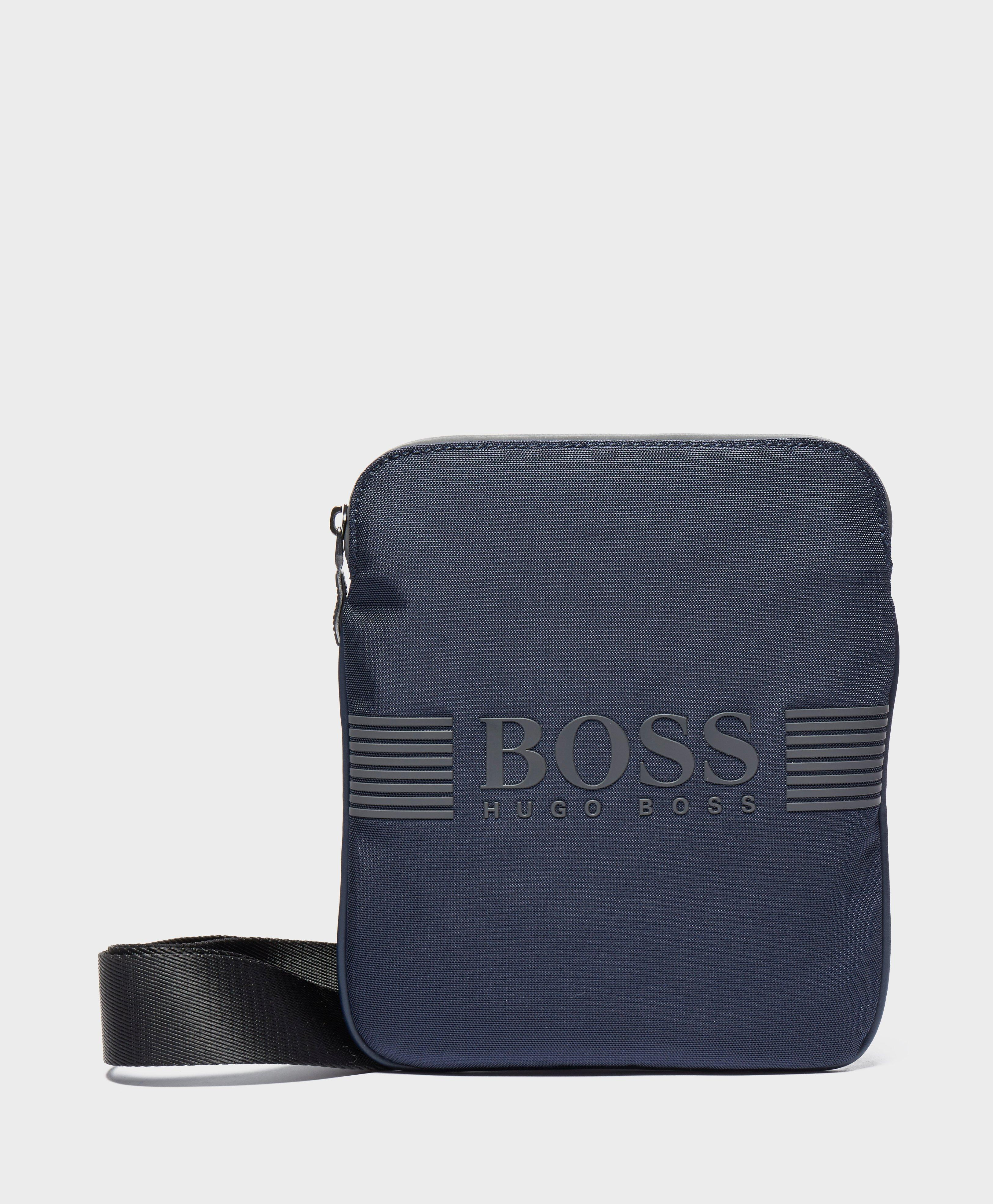 a6a87a1004a2 Boss Pixel Small Item Pouch Bag in Blue for Men - Lyst