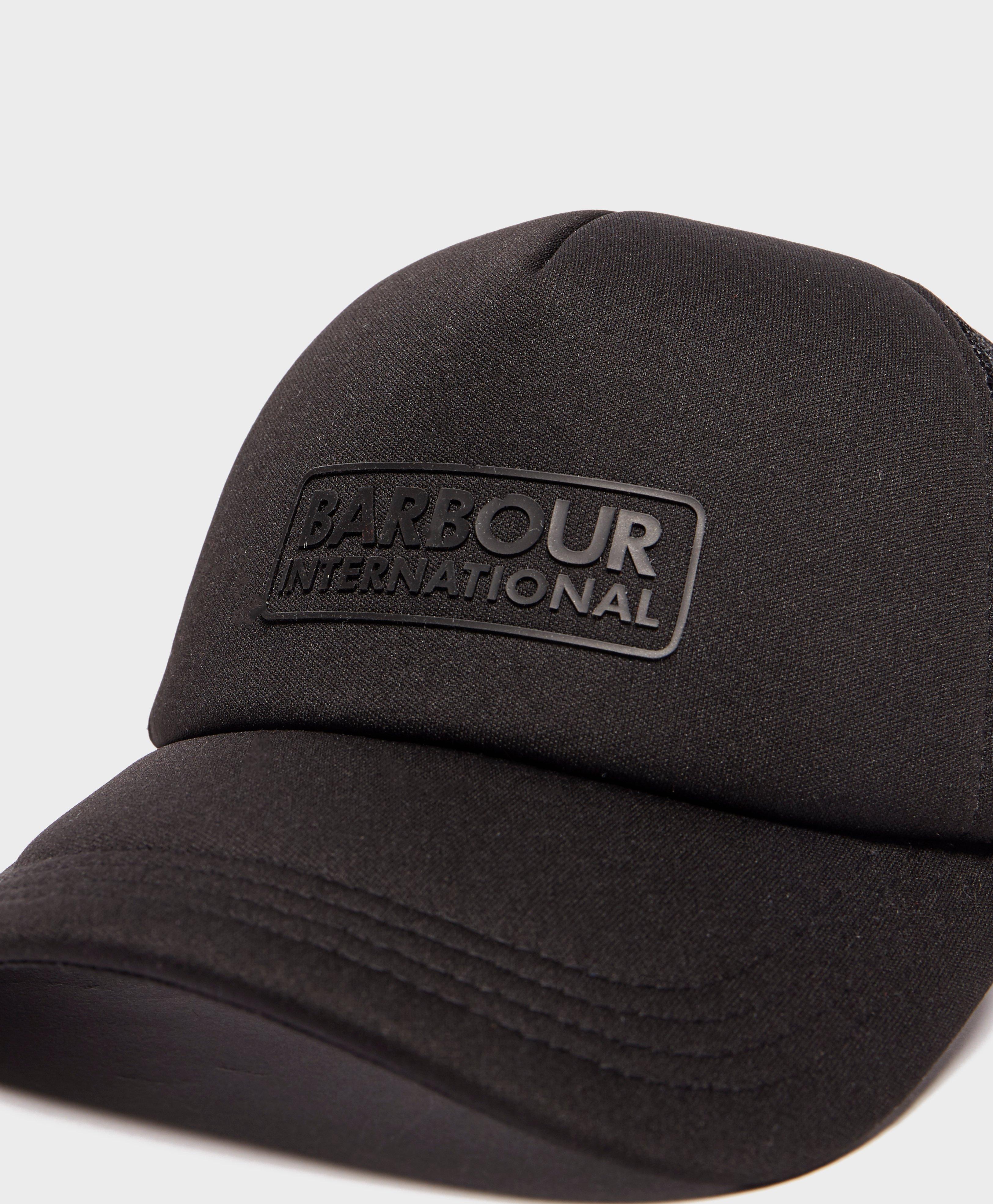 Barbour international heli trucker cap in black for men lyst jpg 3250x3940 Heli  hat ef7b681ce12b