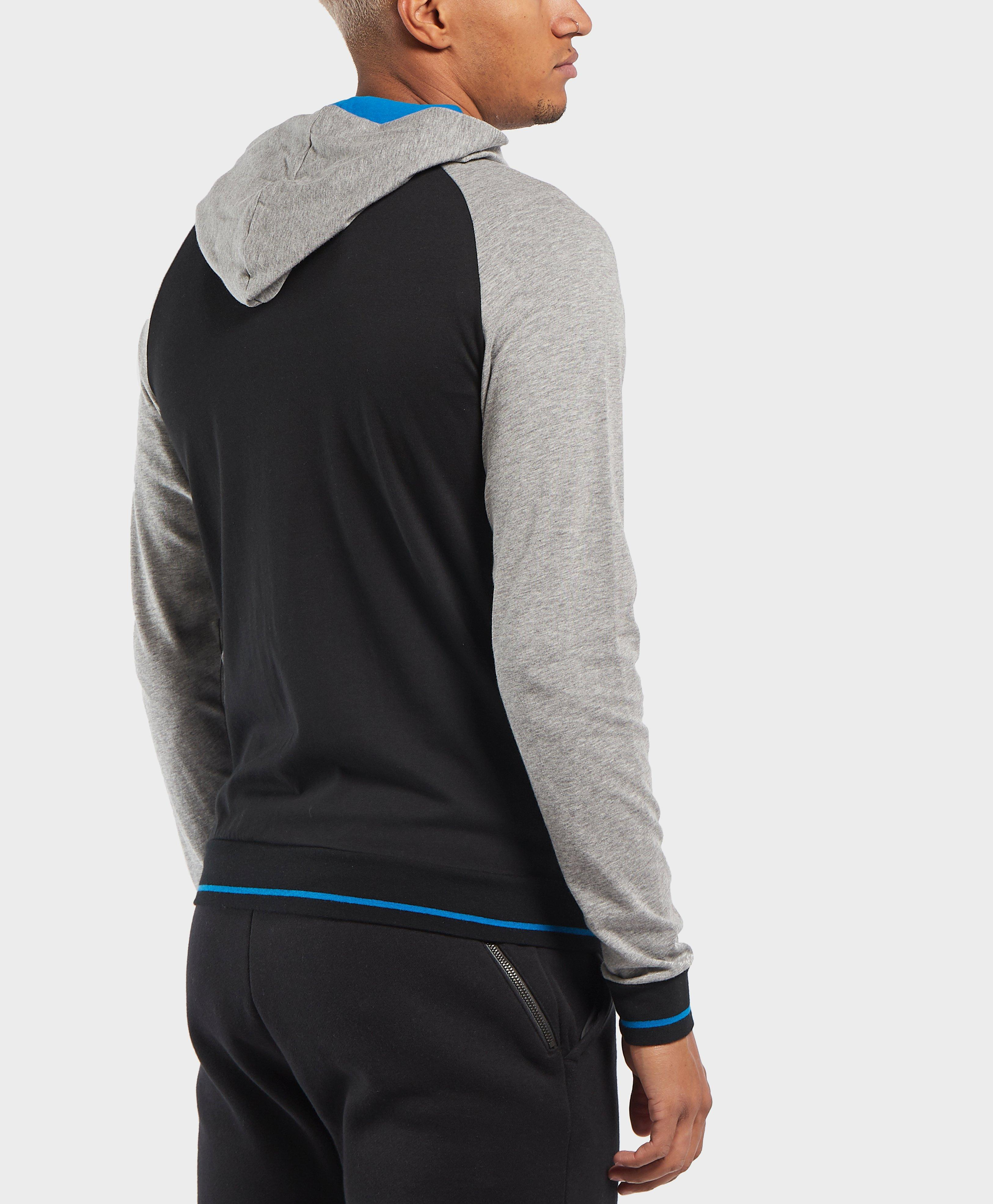 ebf4ef7b BOSS Authentic Full Zip Hoodie in Black for Men - Lyst