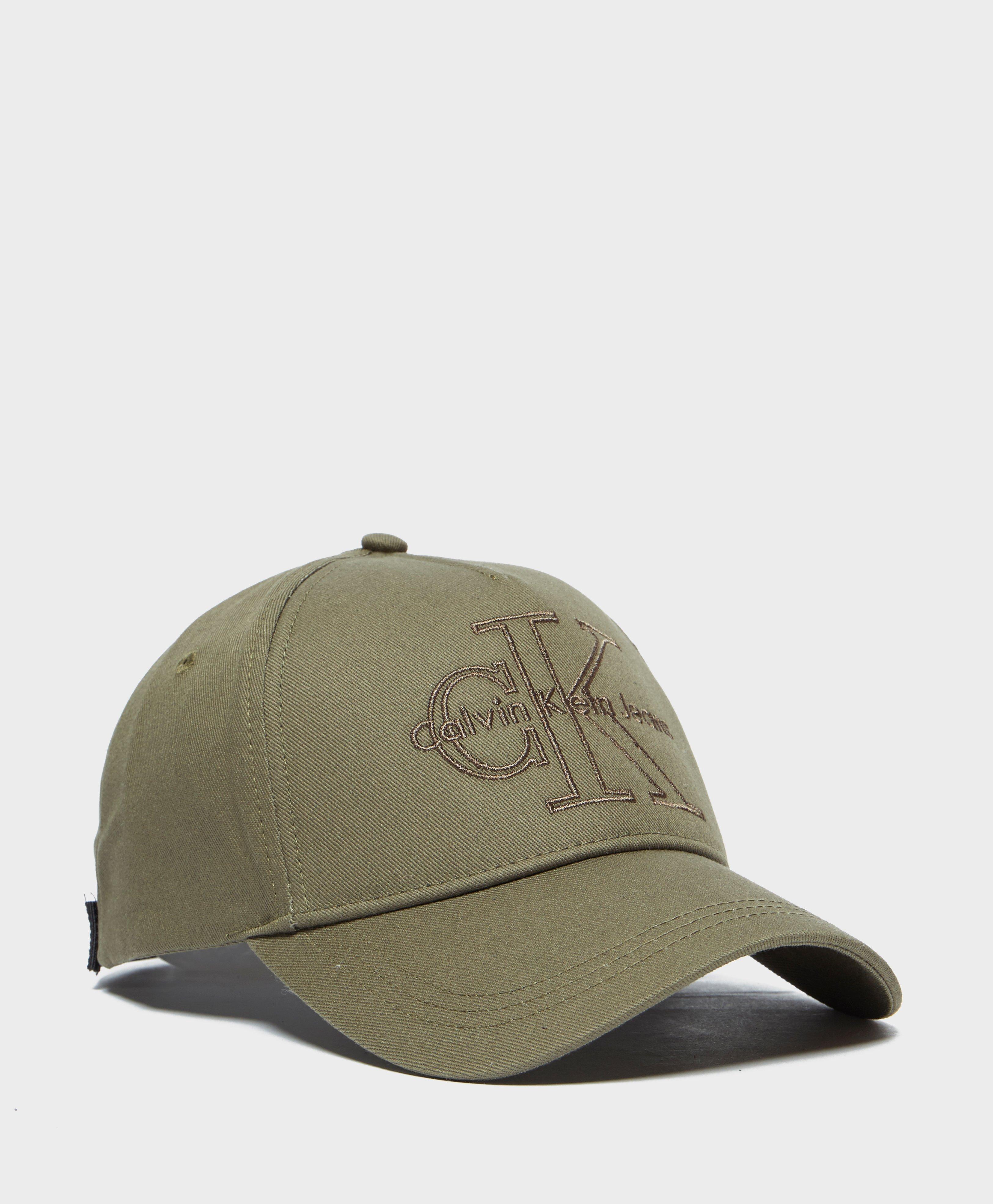 325404f1b83 Calvin Klein Reissue Cap in Green for Men - Lyst