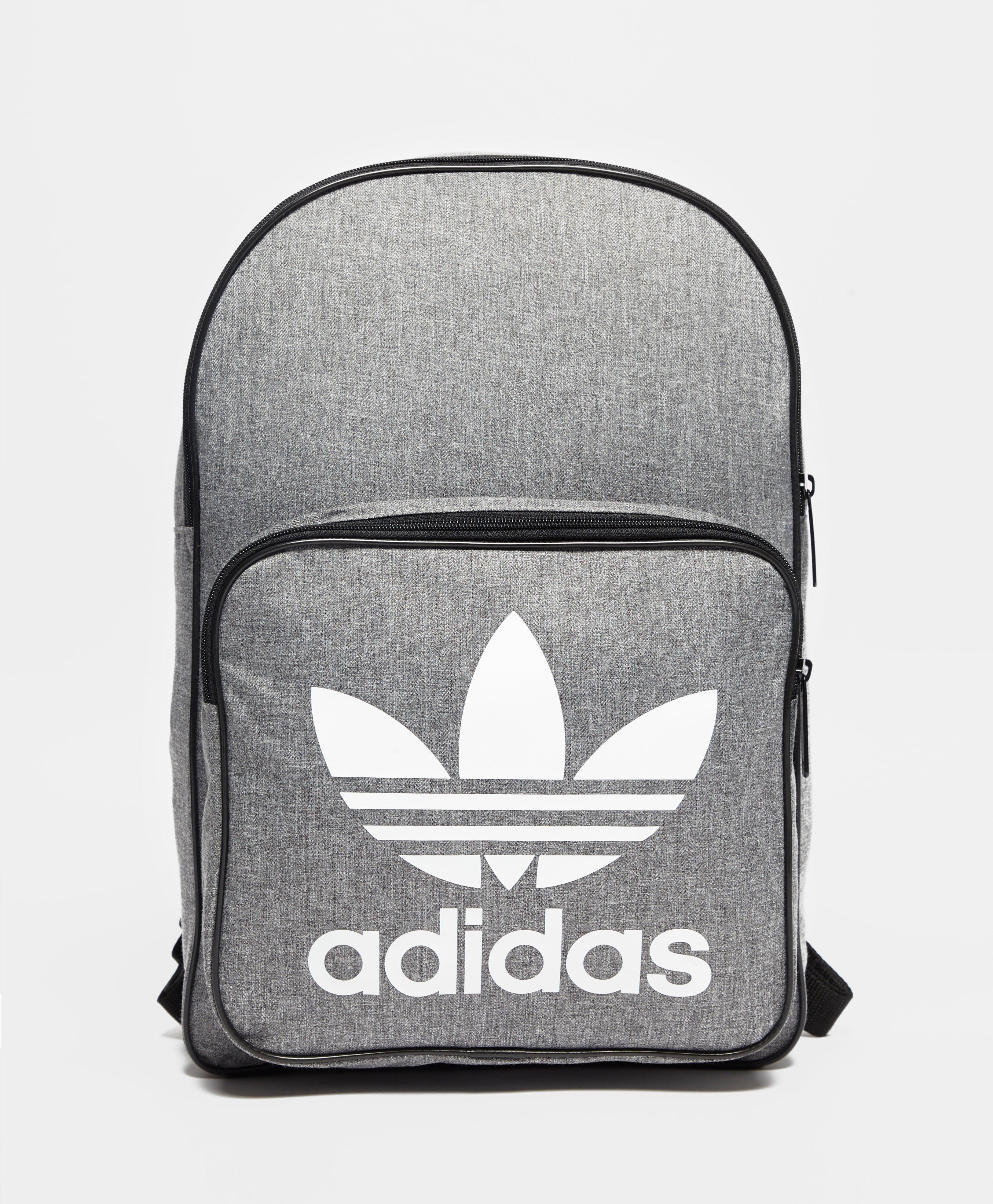 adidas Originals Classic Trefoil Backpack in Gray for Men - Lyst 705e4313d8