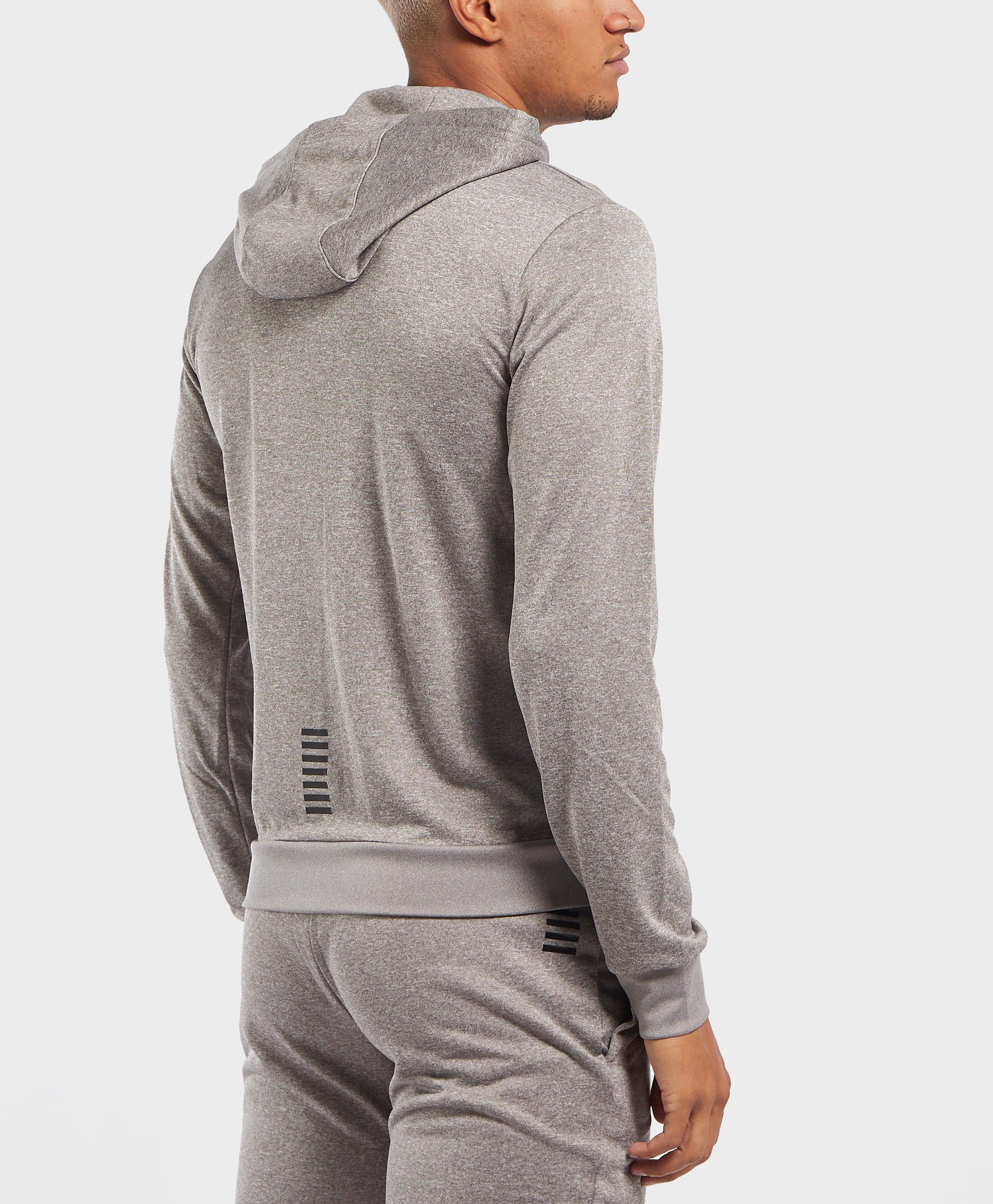 f1cecf79b3b Lyst - Ea7 Hooded Poly Tracksuit in Gray for Men