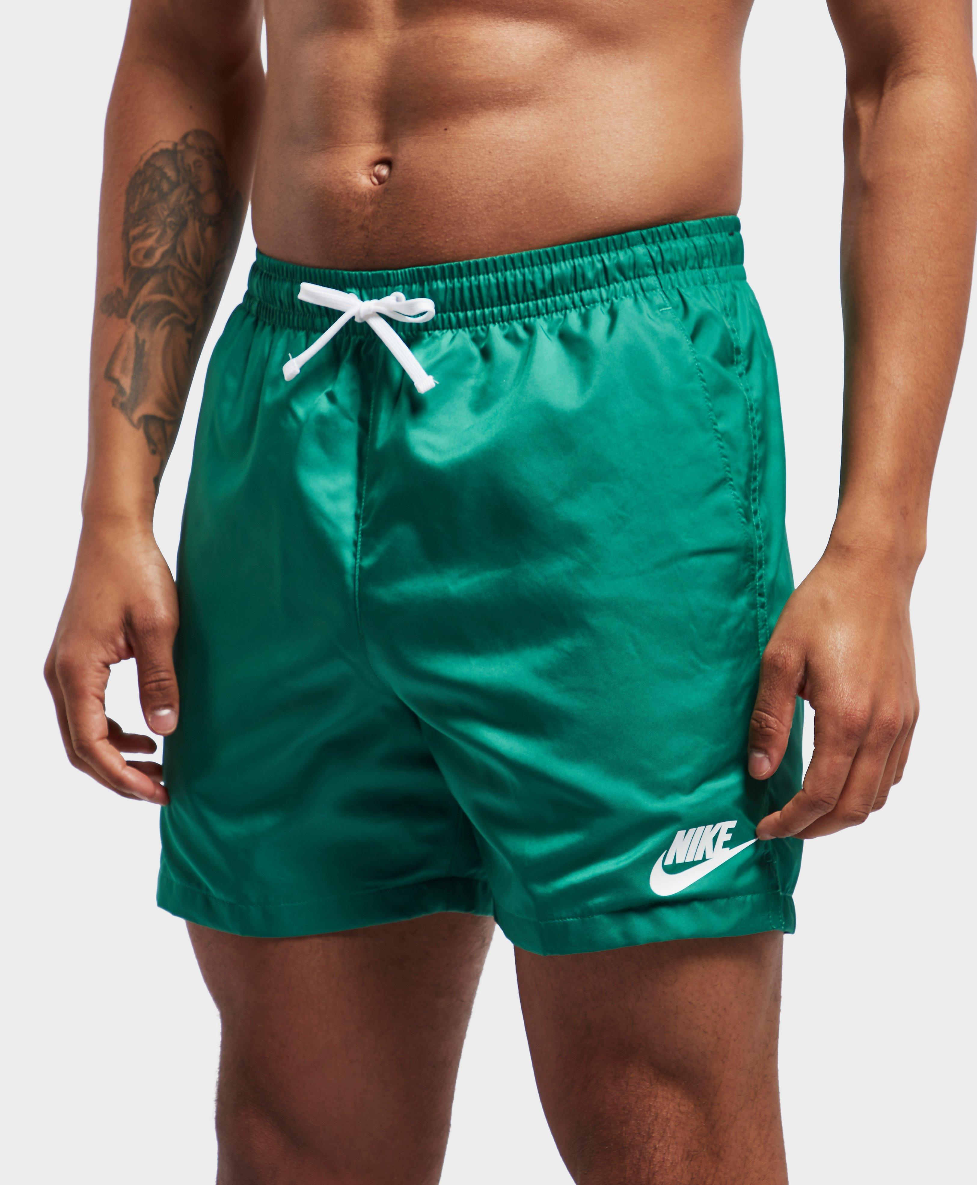 efdef37b97 Nike Flow Swim Shorts in Green for Men - Lyst