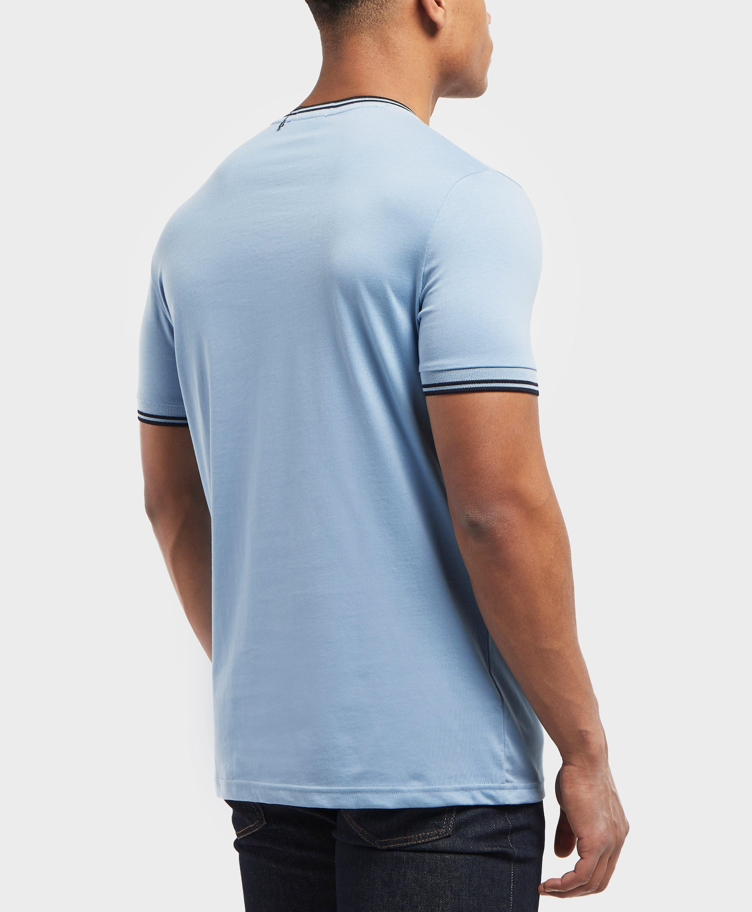 4abcb1e99 Lyst - Fred Perry Core Twin Tipped T-shirt in Blue for Men