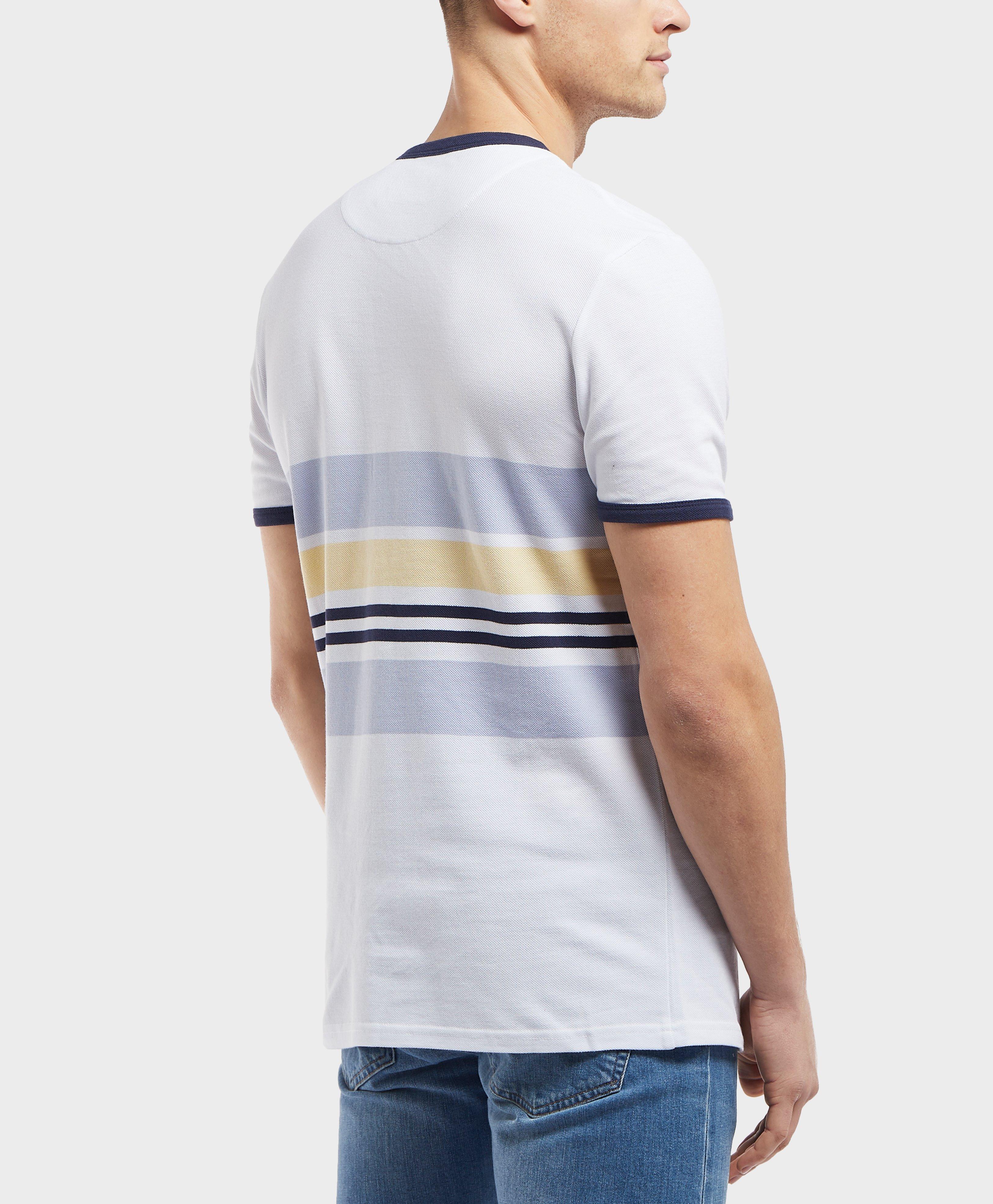 4b7fb6267 Lyst - Lyle & Scott Pique Short Sleeve Stripe T-shirt for Men