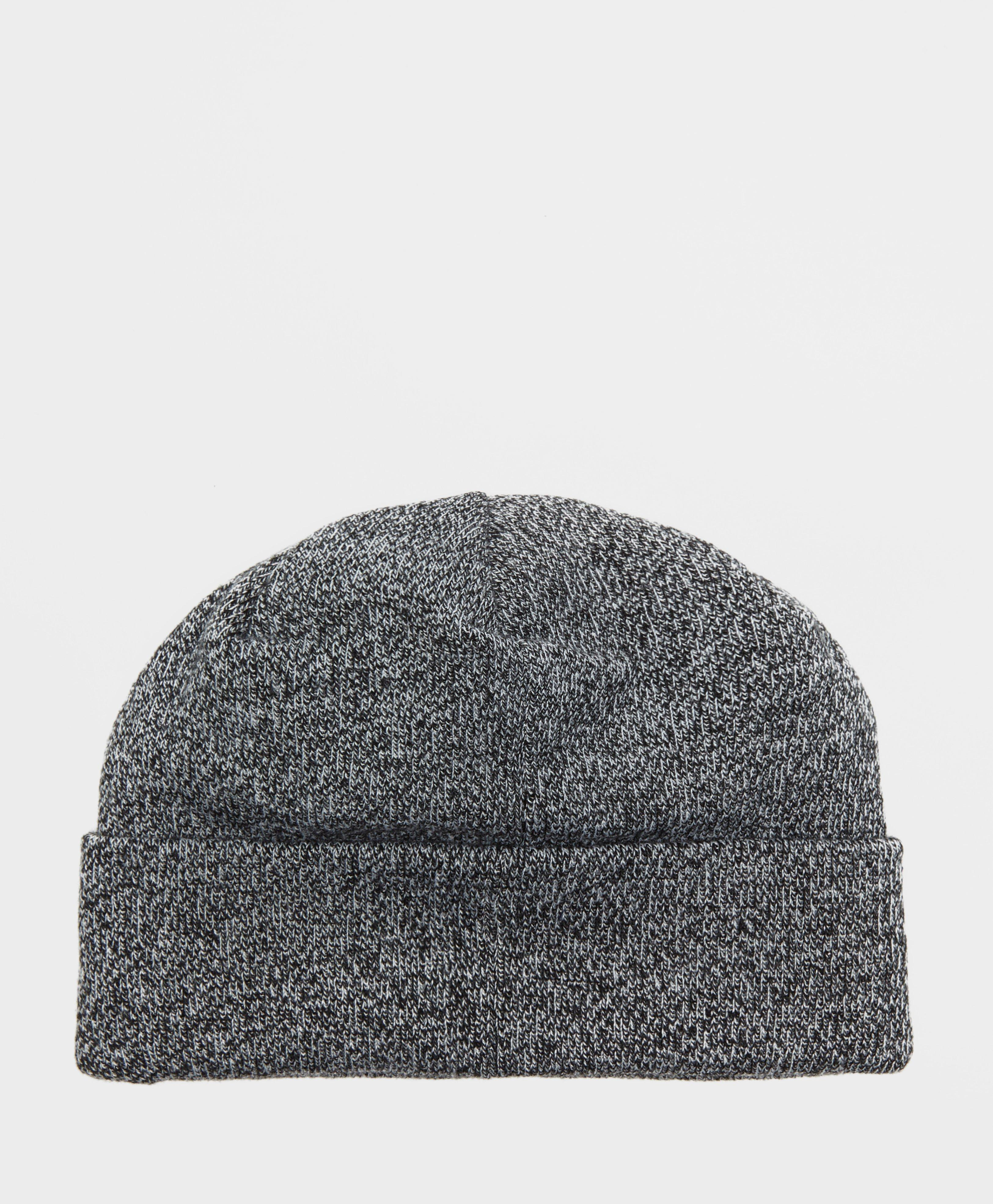 53118140897d2 Lyst - adidas Originals Ribbed Logo Beanie in Gray for Men