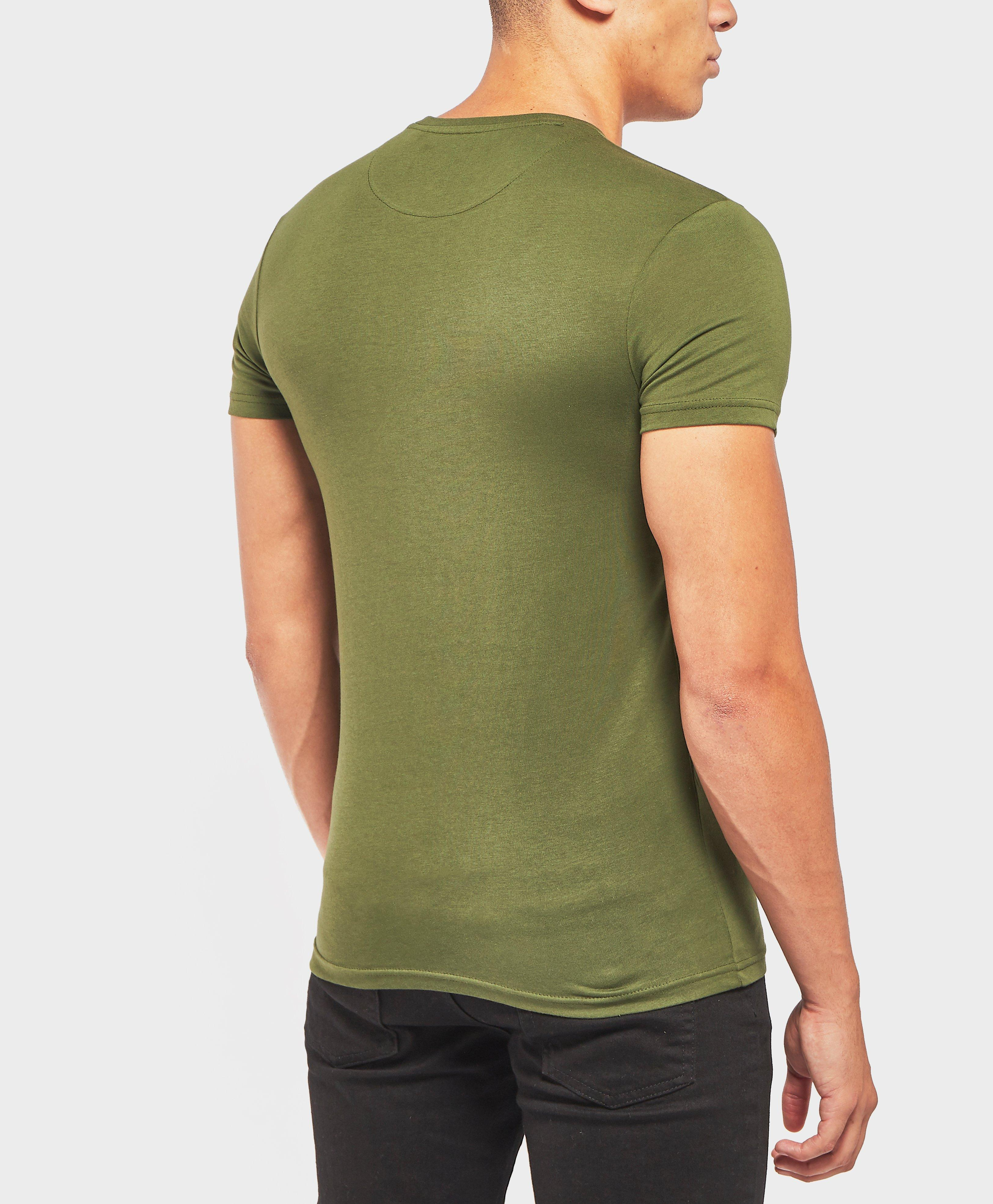 7ebd25efb Lyle & Scott Lyle And Scott Crew Neck T-shirt in Green for Men - Save  20.83333333333333% - Lyst