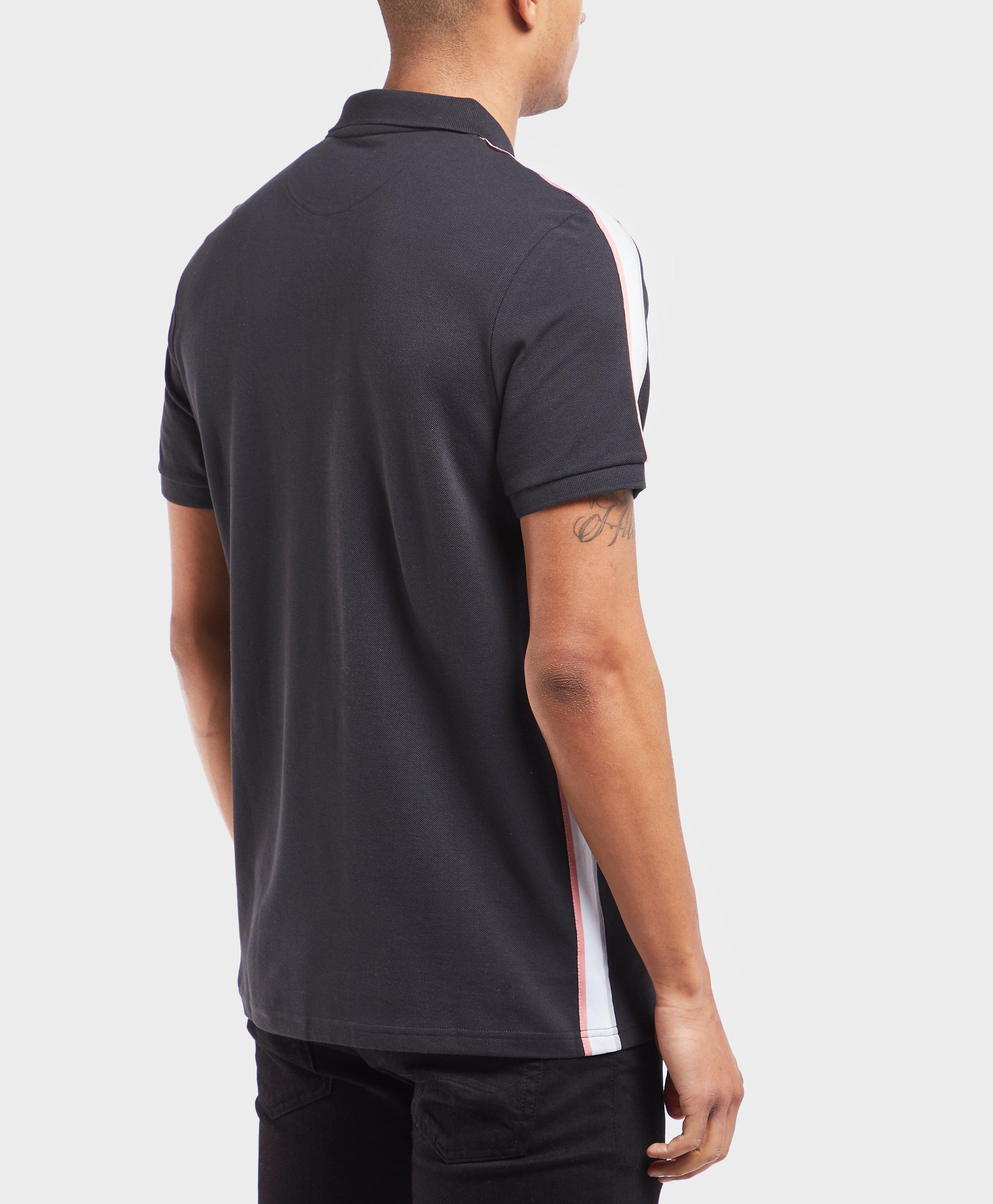 25aa19c6285 Lyst - Lyle   Scott Short Sleeve Tape Polo Shirt for Men