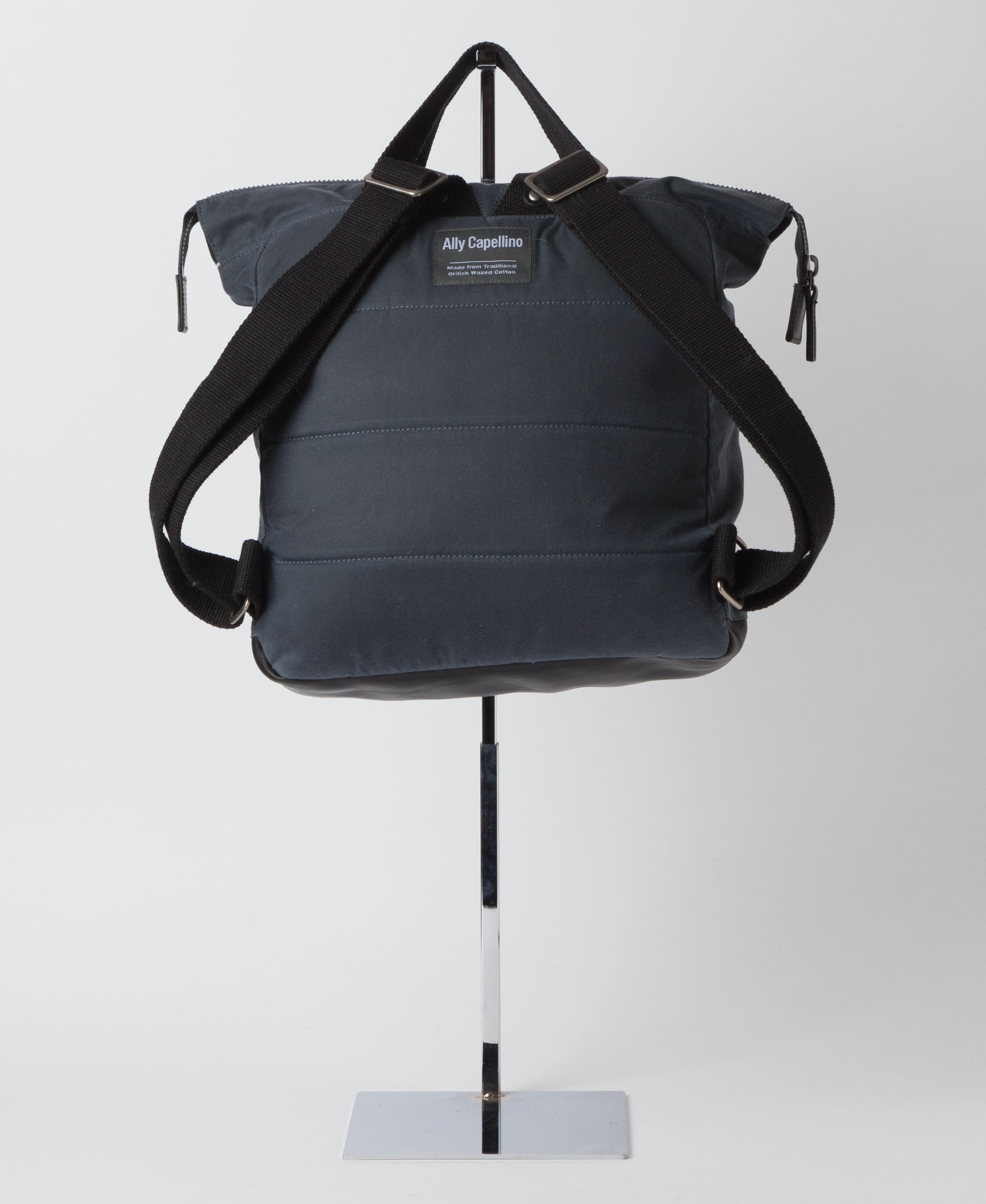 e00bcf880cab Ally Capellino Frances Waxed Cotton Rucksack in Gray for Men - Lyst