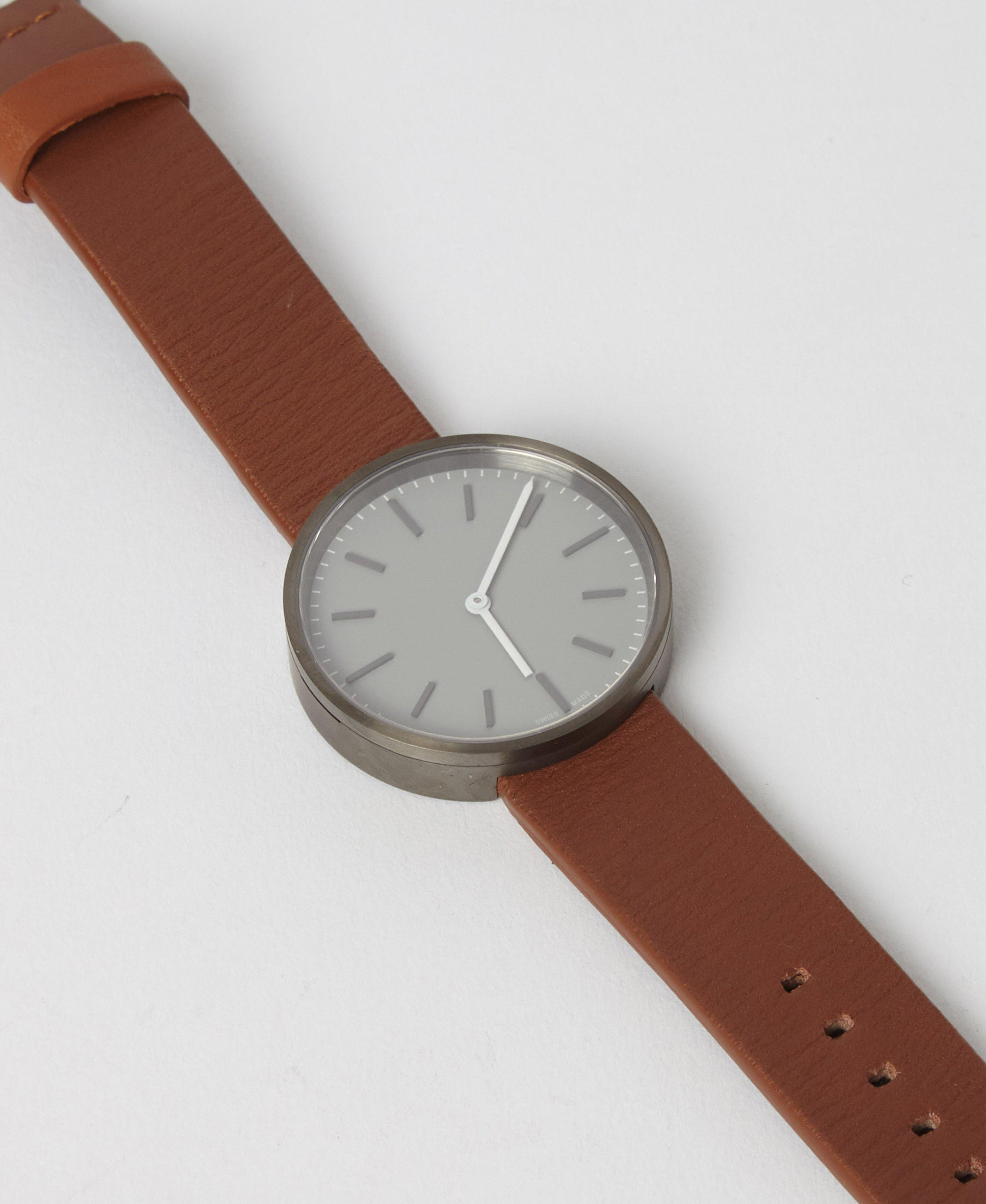 9fa93a946 Uniform Wares M37 Grey Watch With Tan Leather Strap in Gray for Men - Lyst