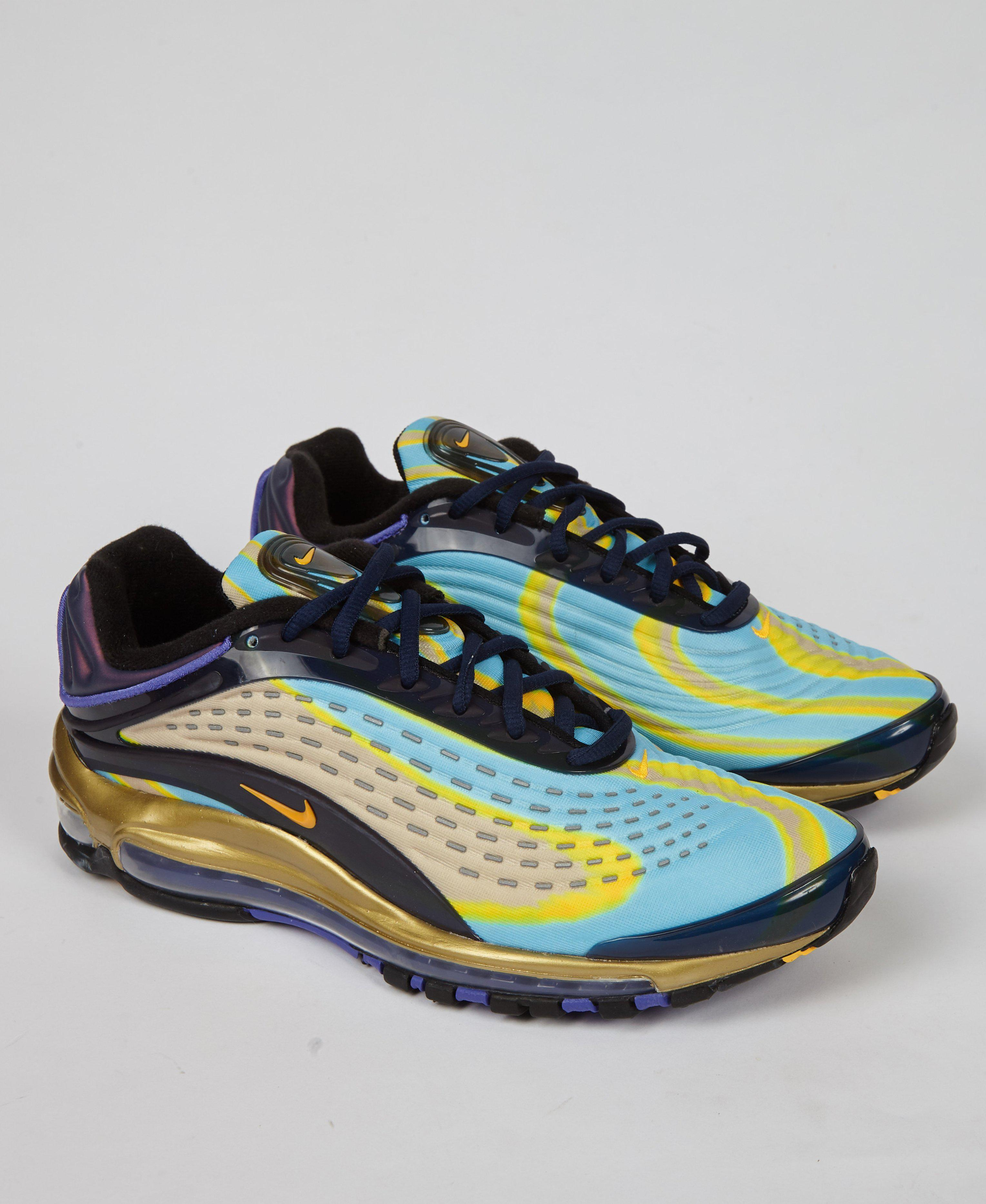 3e2595e0a6615c Lyst - Nike Air Max Deluxe  midnight Lazer  in Blue for Men