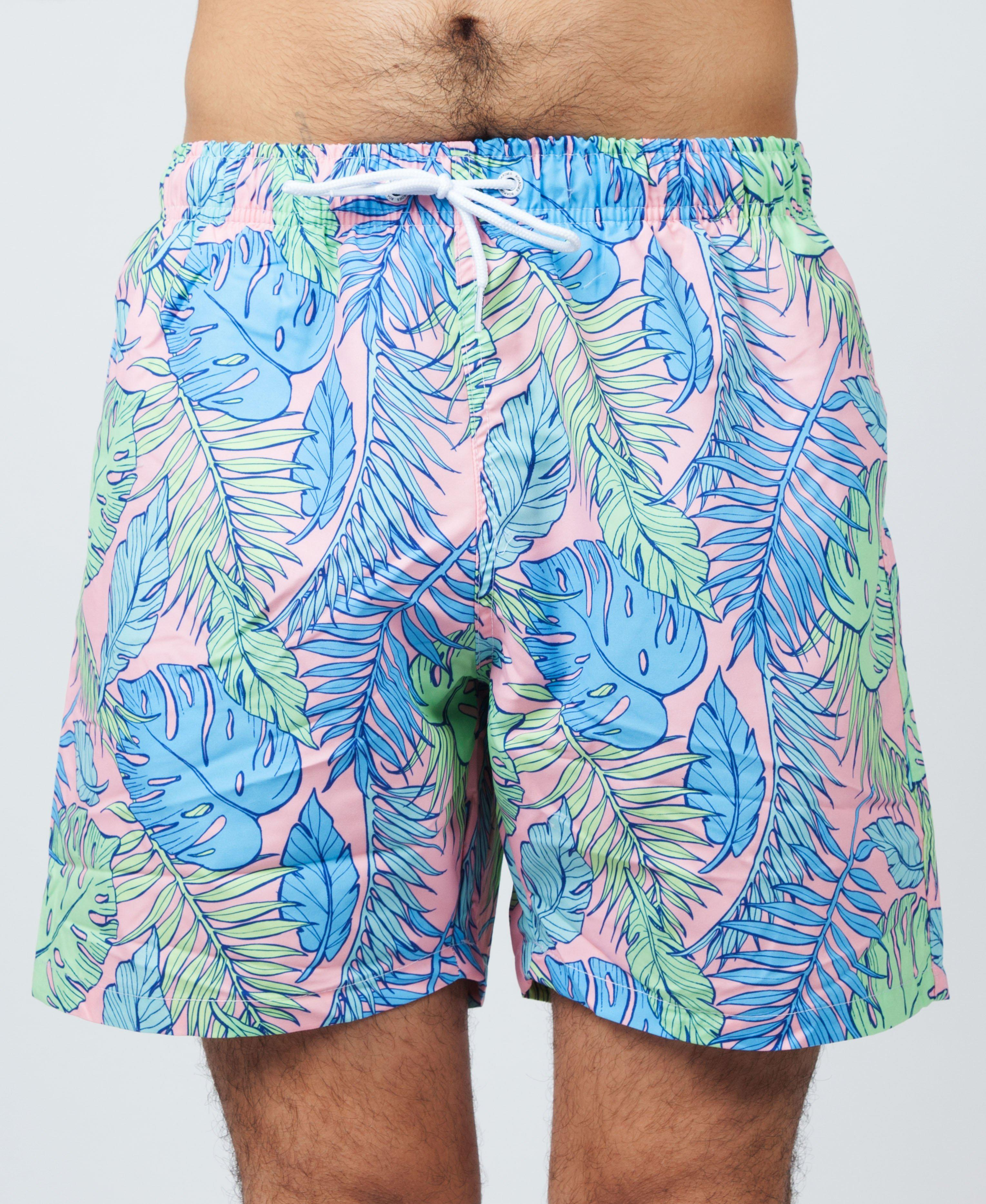 a2fd89ad27 Boardies Palmtopia Mid Length Swim Shorts in Blue for Men - Lyst