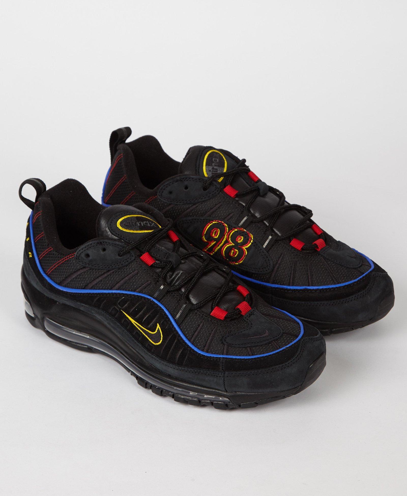 6bab8914478718 Lyst - Nike Air Max 98  amarillo  in Black for Men