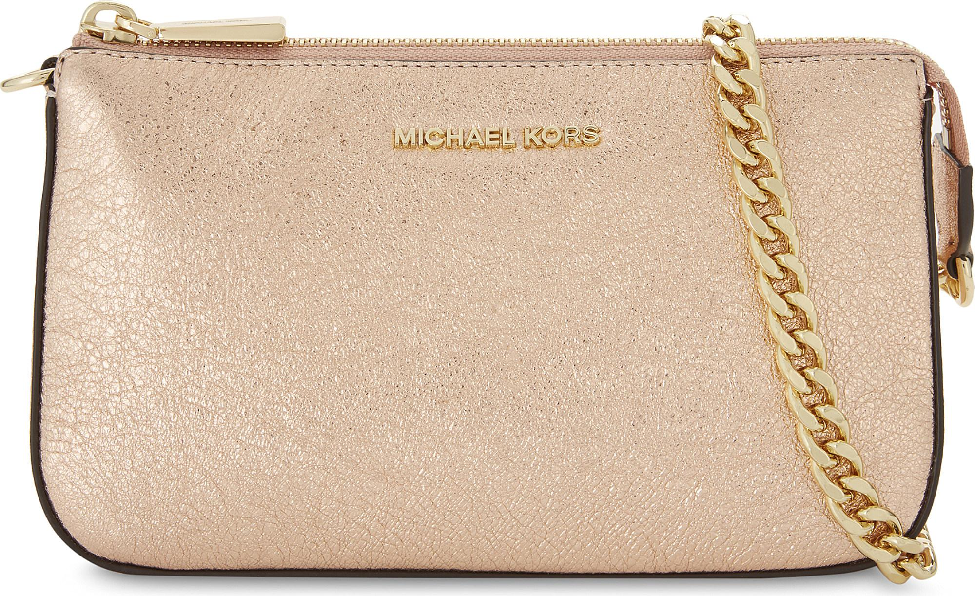 1de73b7bc1c6 MICHAEL Michael Kors Mini Amor Glitter Shoulder Bag - Lyst