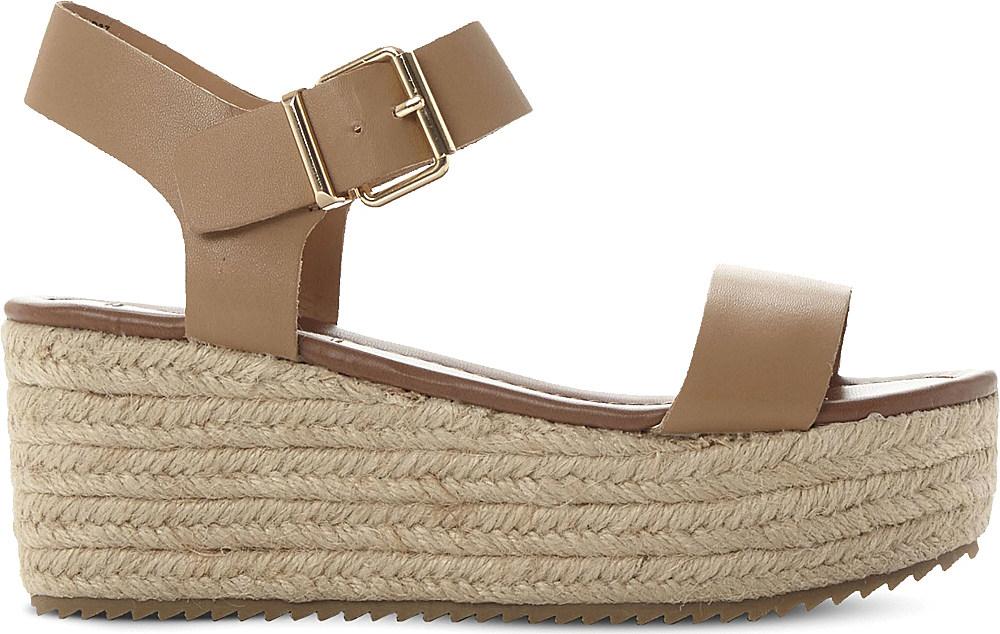 0d1d7219986 Lyst - Steve Madden Surfa Espadrilles Platform Sandals in Brown