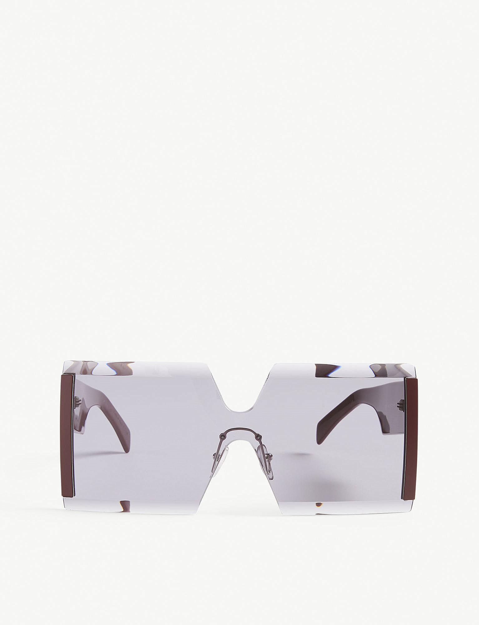 8b8d951010b Marni. Women s Me615s Square-frame Sunglasses