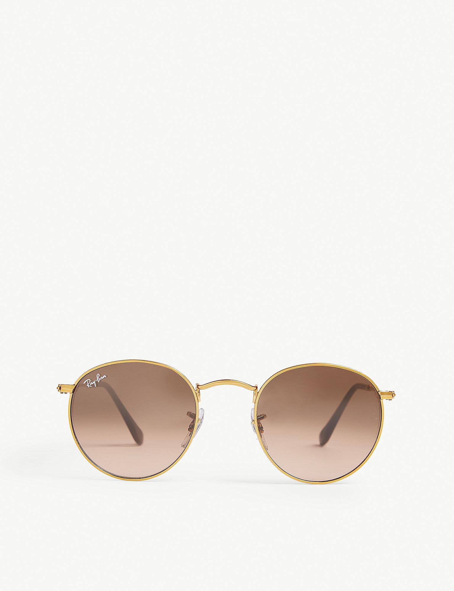 a80874542b Ray-Ban Rb3447 Phantos-frame Sunglasses in Metallic - Lyst