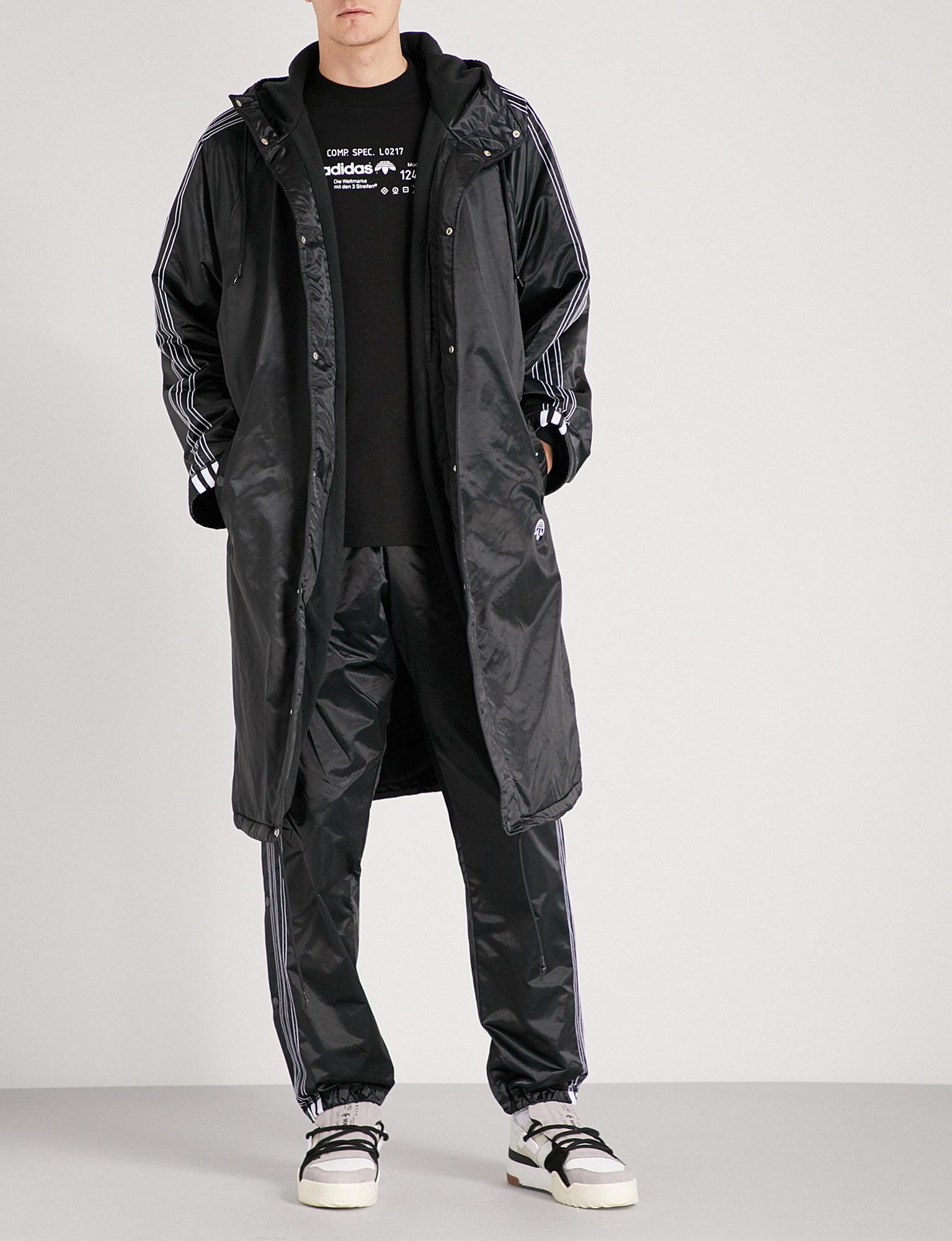 6abdfdce20d6 Lyst - Alexander Wang Stadium Shell Jacket in Black for Men