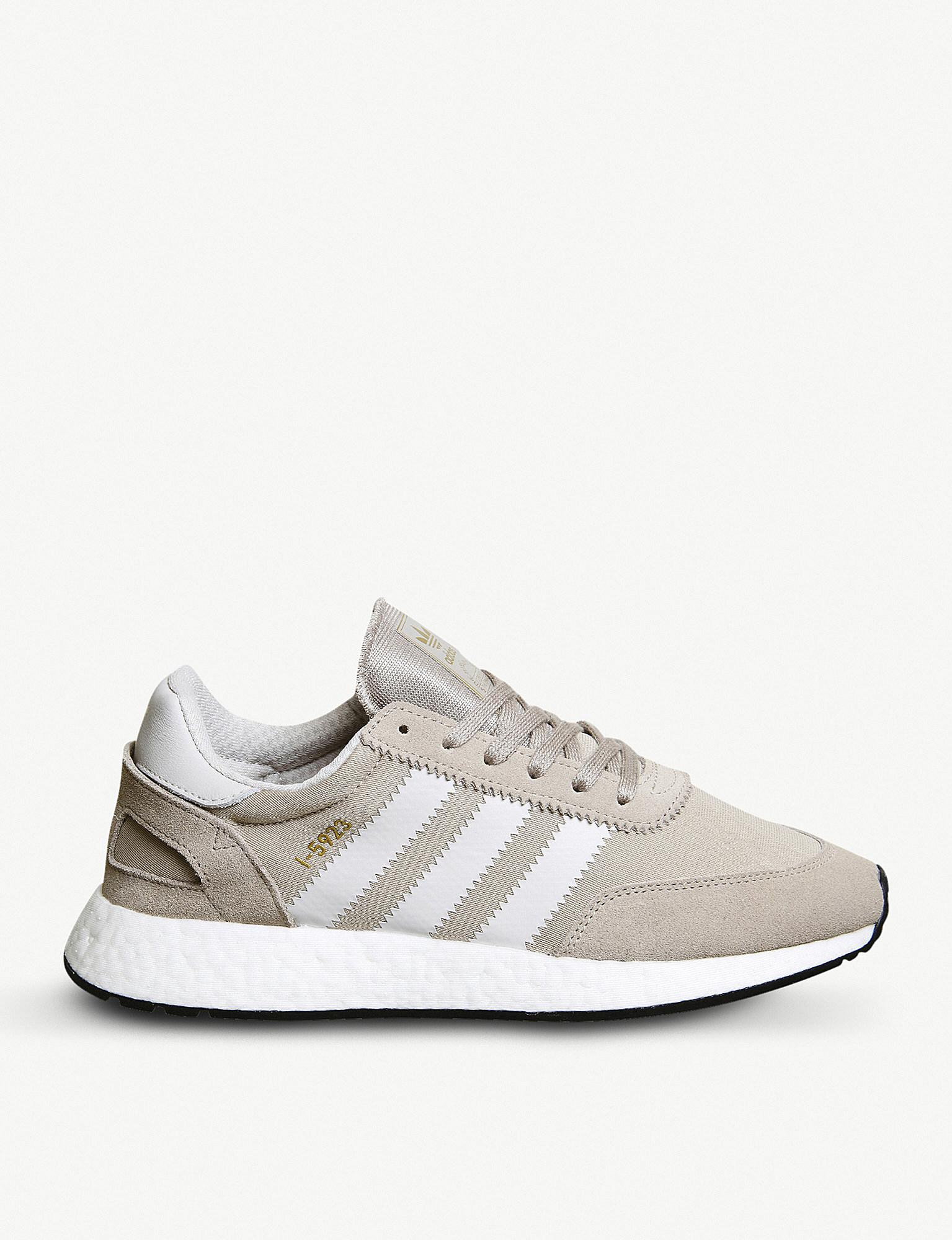 Adidas - 5923 di vapore grigio gesso scamosciato formatori in grigio per gli uomini lyst