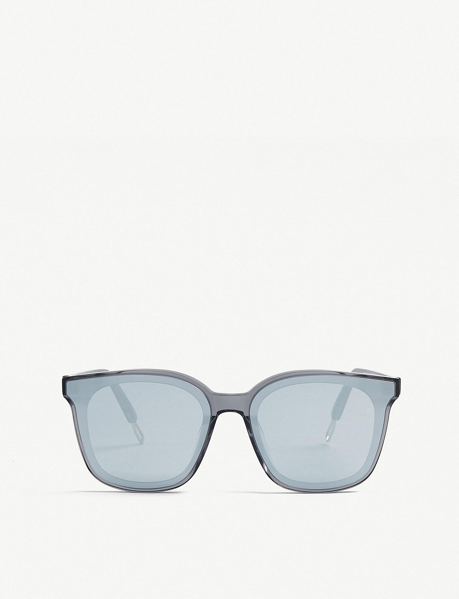 084a74df72 Gentle Monster Papas Acetate And Metal Sunglasses in Gray - Lyst