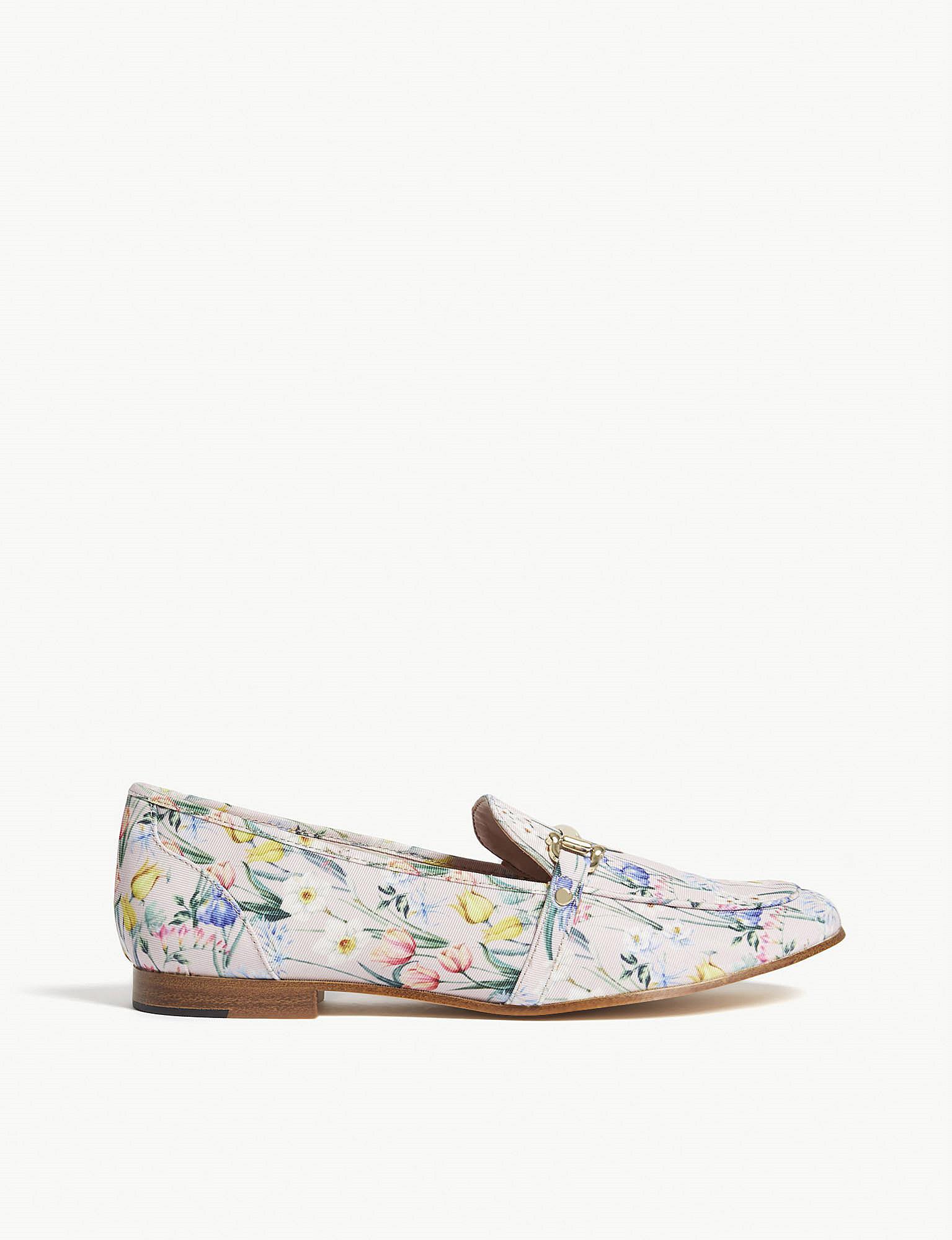 2b3781a6065 Lyst - ALDO Astawia Floral Loafers