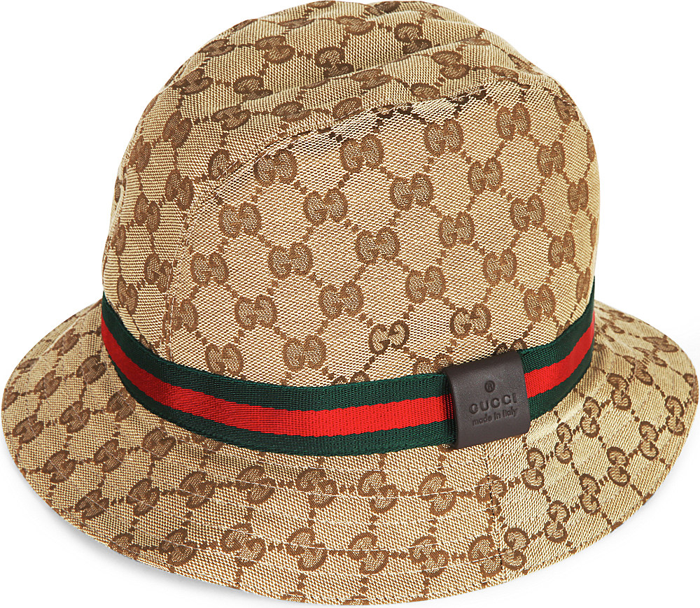 gucci gg monogram bucket hat lyst. Black Bedroom Furniture Sets. Home Design Ideas