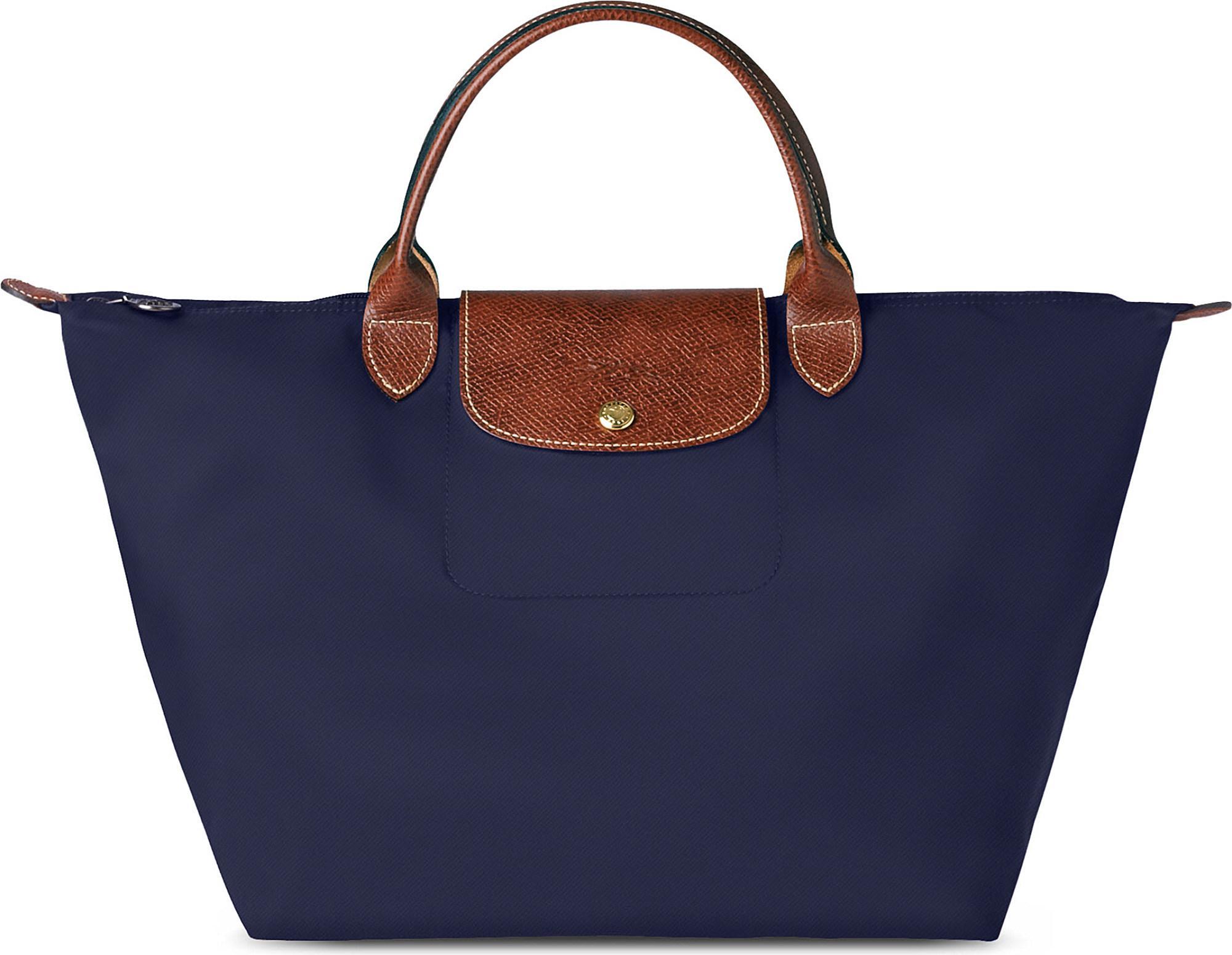 3112b4b6e18 Longchamp Le Pliage Medium Handbag In Navy in Blue - Save 13% - Lyst