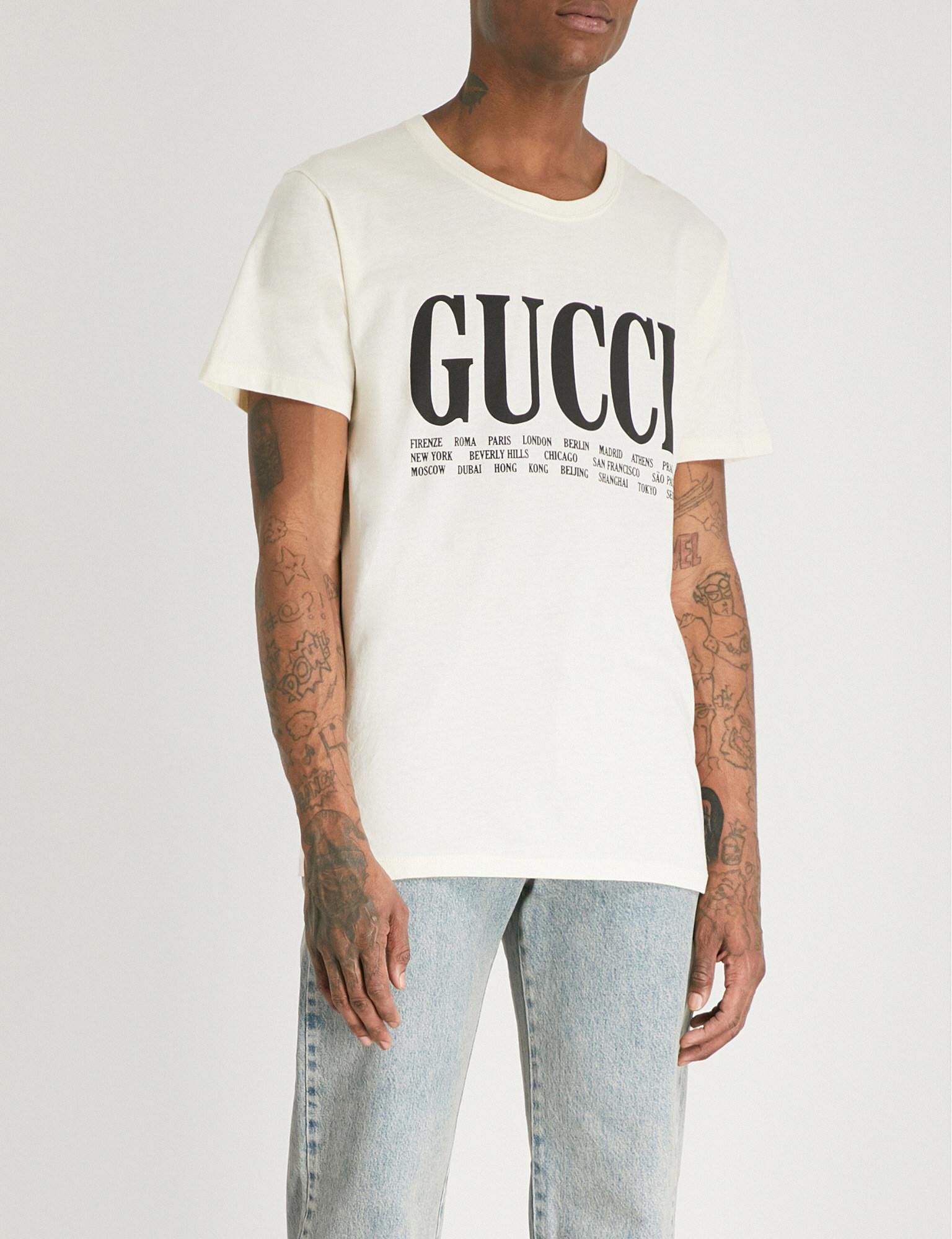 21bc7792033df T Shirts For Men Gucci