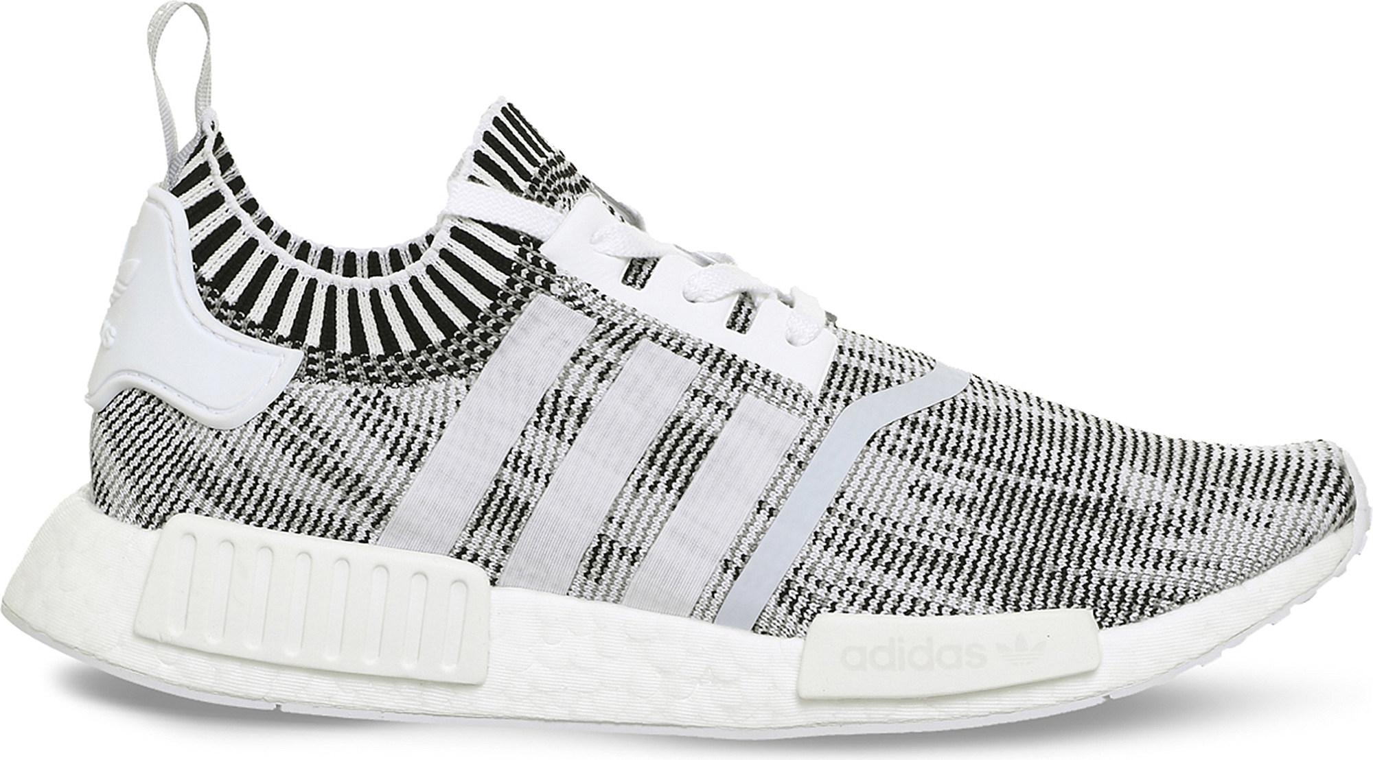 855f27ad384b adidas Originals Nmd R1 Primeknit Trainers in White for Men - Lyst