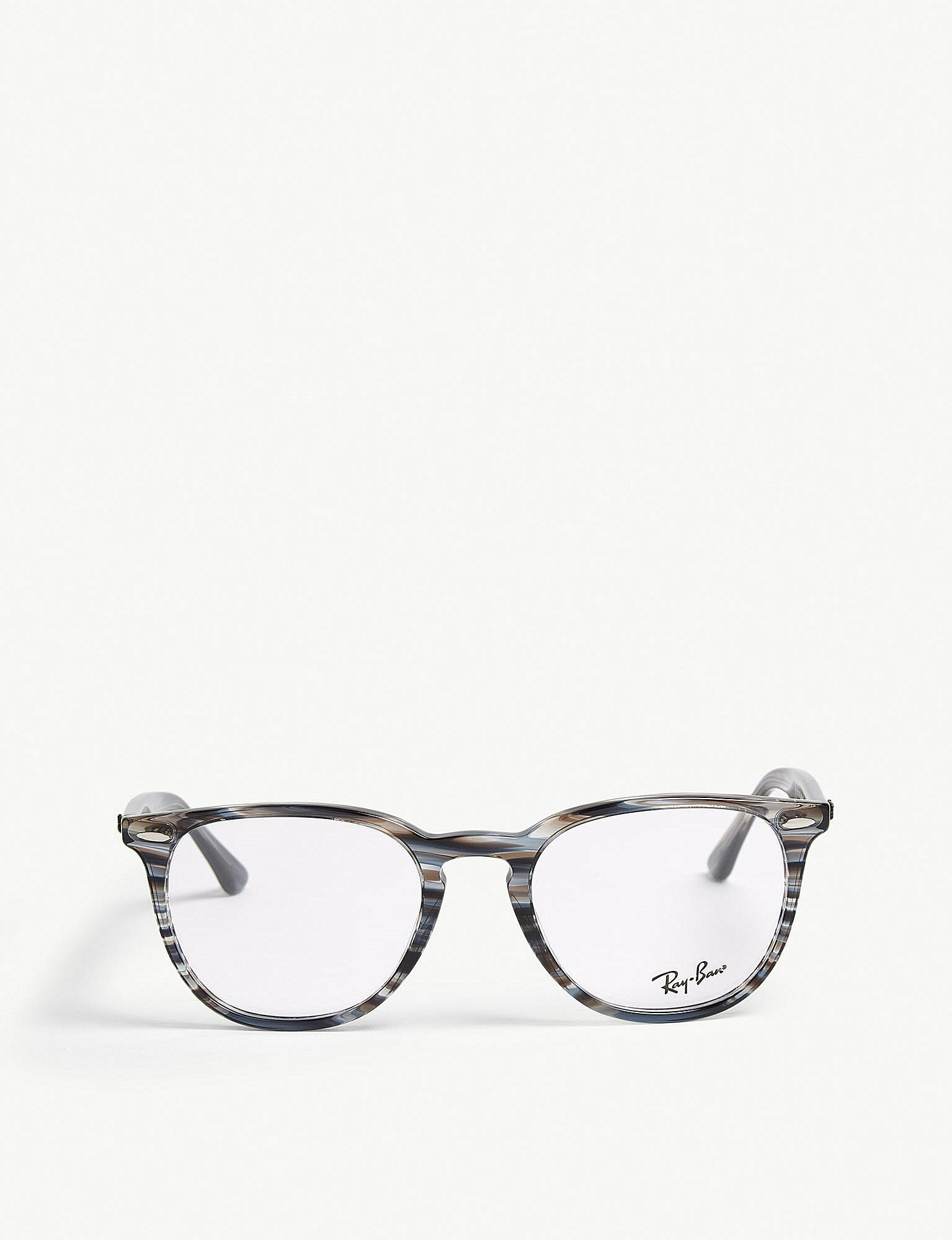 57d44124f9 Ray-Ban Rb7159 Square-frame Optical Glasses in Blue - Lyst