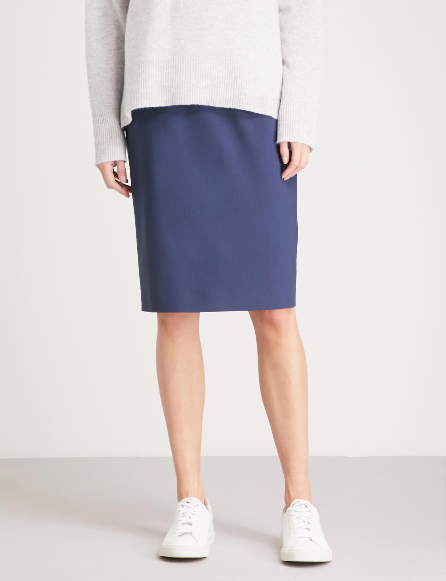 27c406f17 Theory Womens Pencil Edition Skirt Clothing Wear to Work