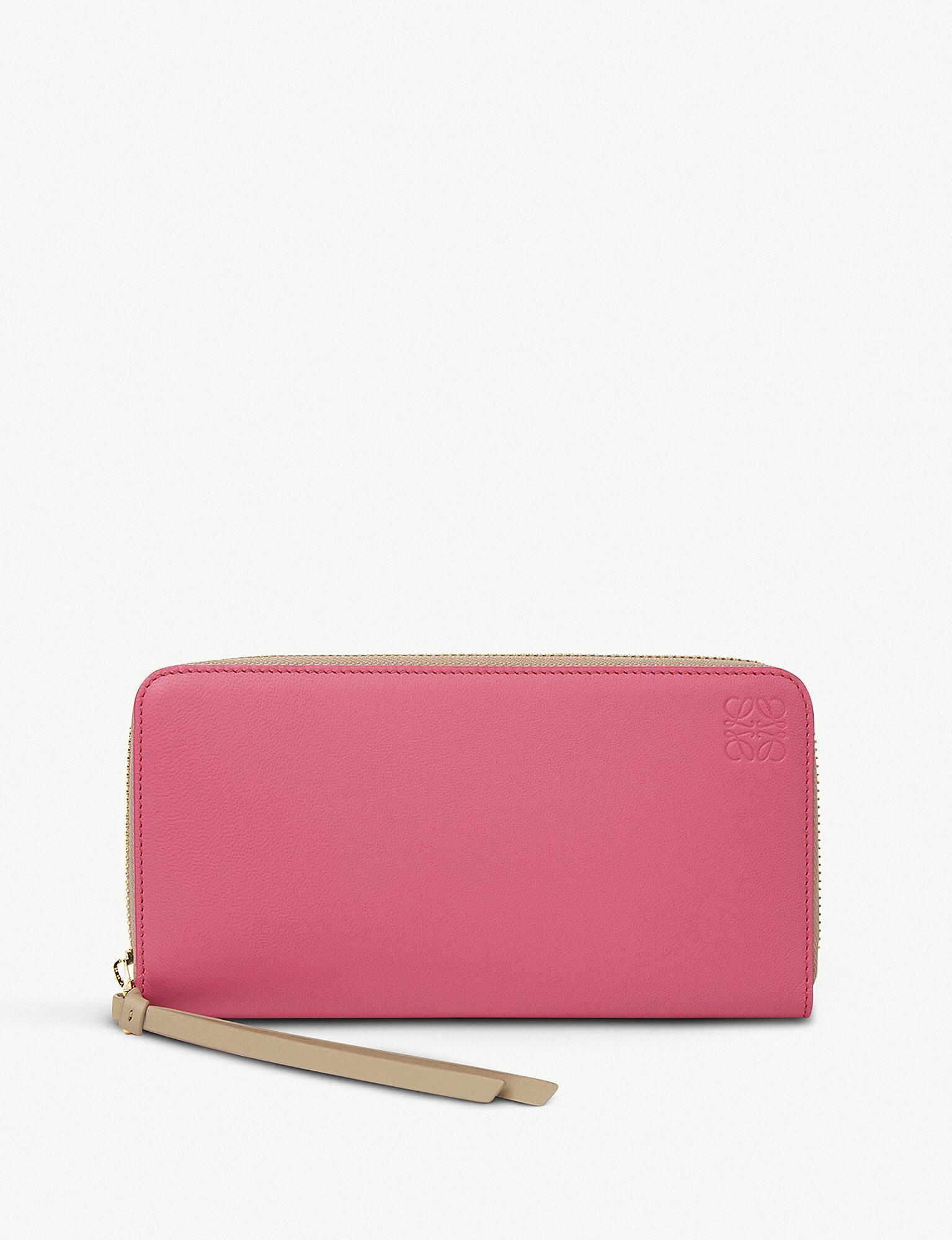 Zip-around leather cardholder Loewe EdAL0Su