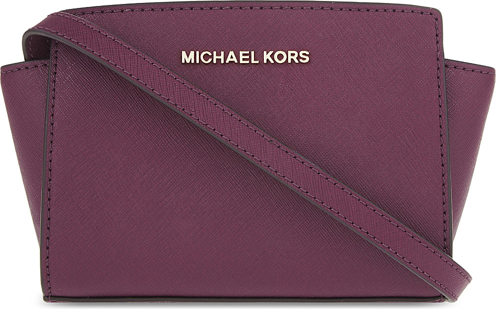 7a601d440294 ... sale gallery. previously sold at selfridges womens leather messenger  bags womens michael by michael kors