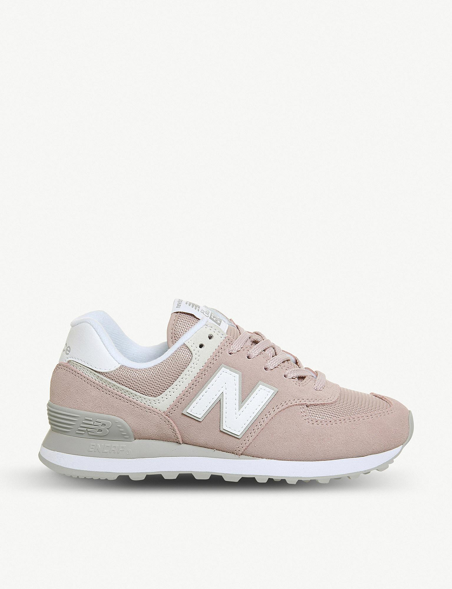 new balance trainers 574 pink