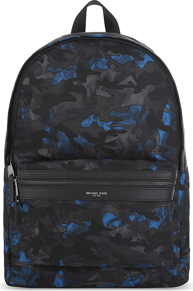 b2e7e4bd6219 Michael Kors Kent Nylon Backpack for Men - Lyst
