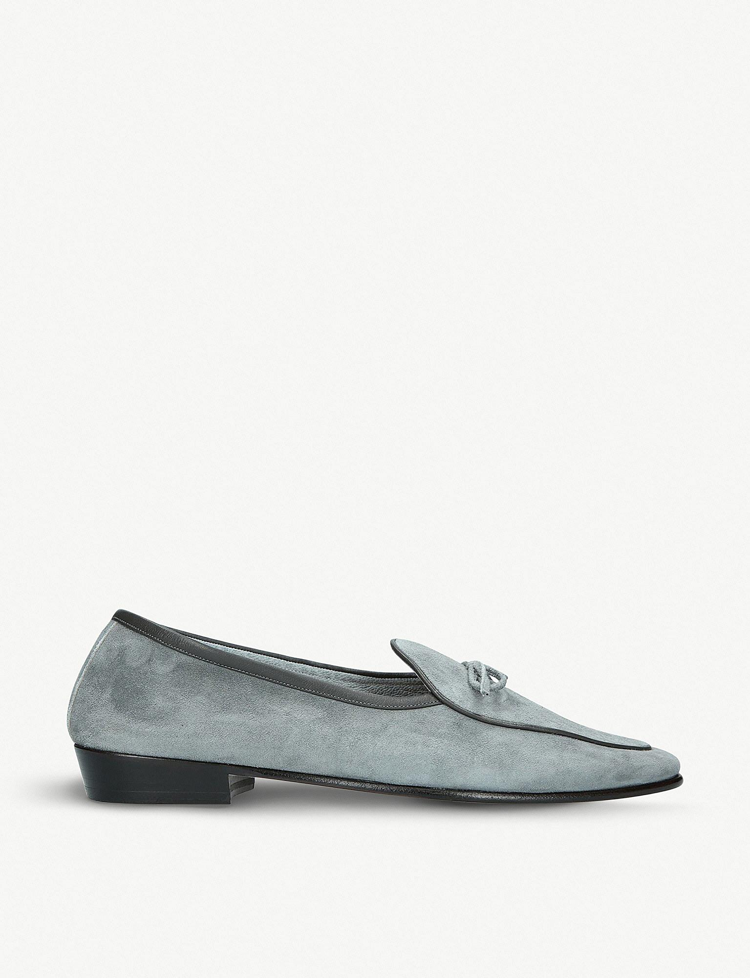 Discount Explore Discount Official Black Evening Wear Patent Loafers Baudoin & Lange qbpXI9