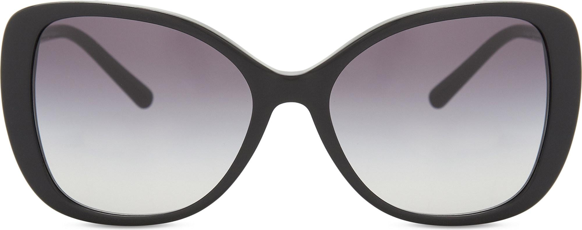 894bb9dd972c Lyst - Burberry Be4238 Butterfly-frame Sunglasses in Black