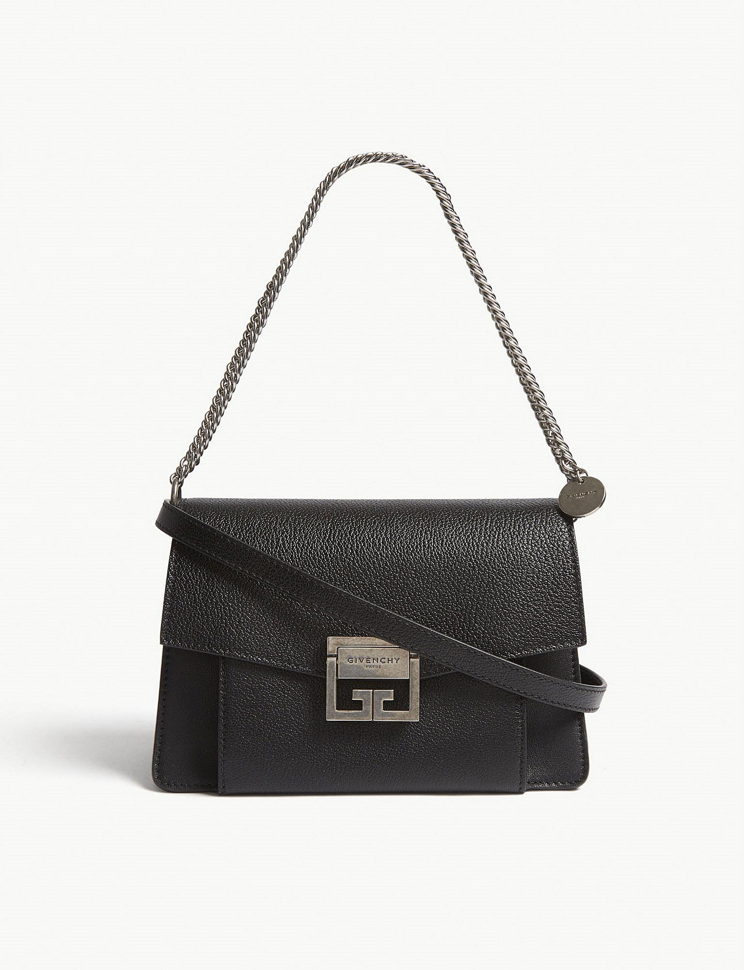 229e293686e1f Givenchy - Black Gv3 Small Leather Shoulder Bag - Lyst. View fullscreen