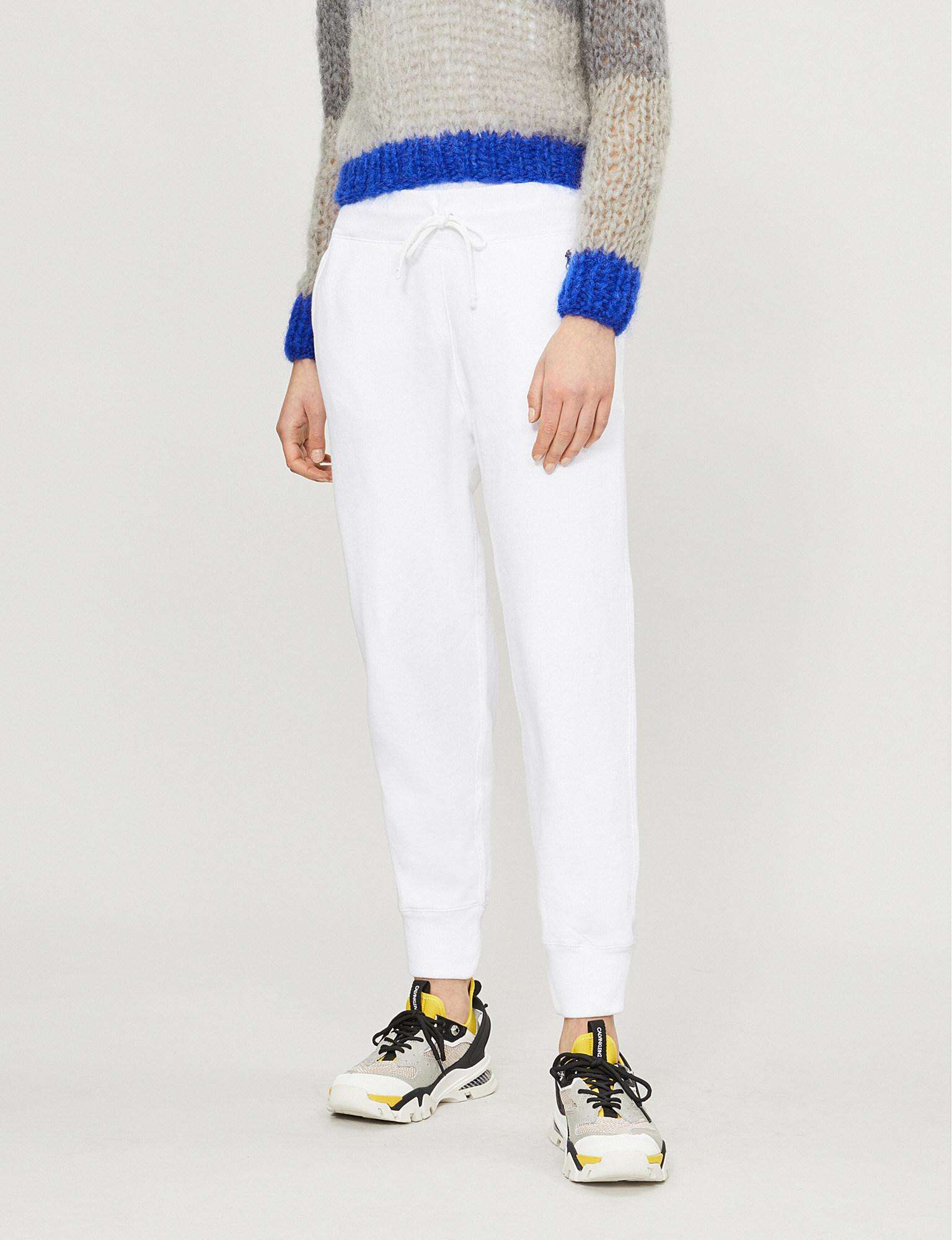 cc9124a435dd Polo Ralph Lauren. Women s White Pony Icon Cotton-blend Tracksuit Bottoms