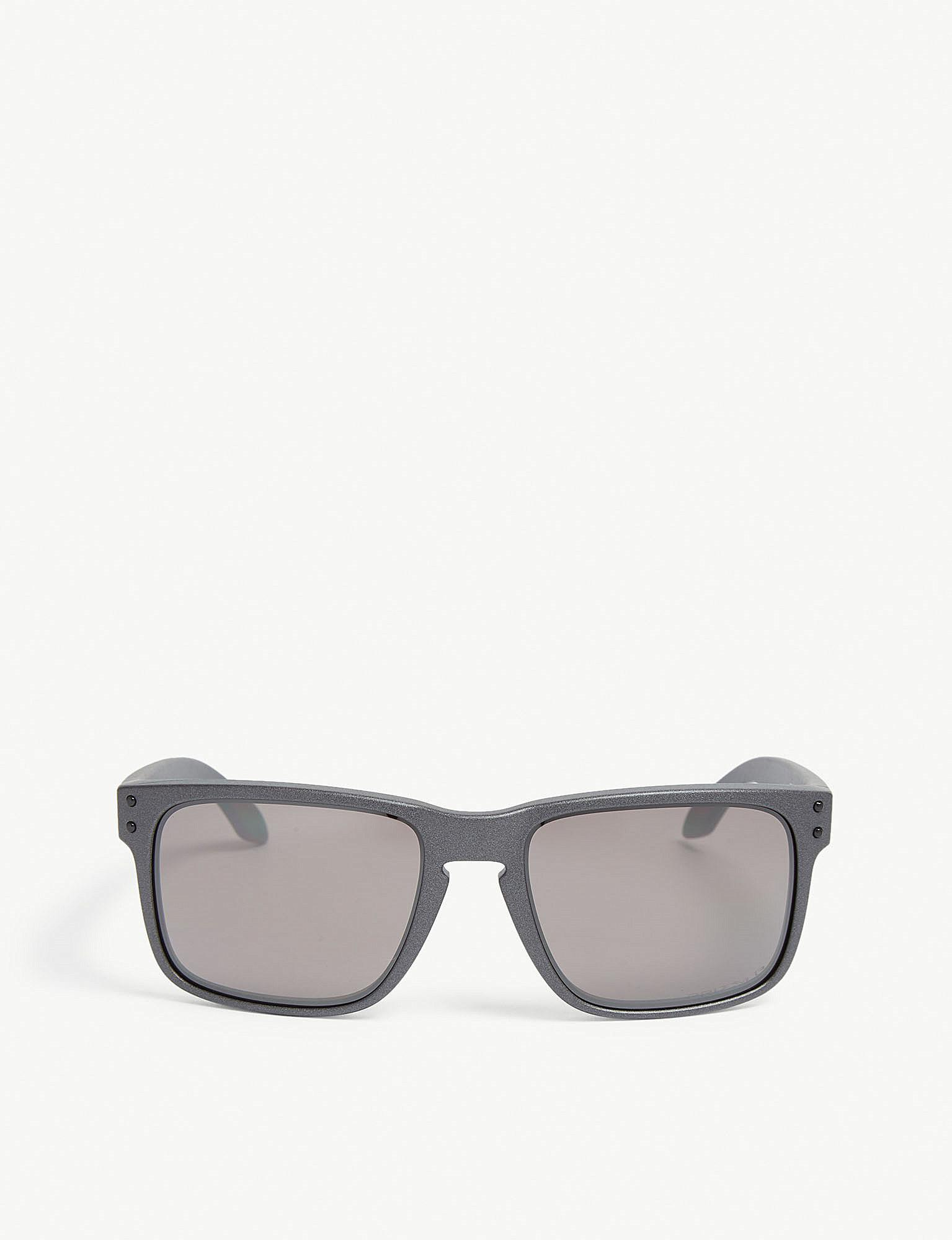 d6398d7b4f Lyst - Oakley Holbrook Oo9102 Square-frame Sunglasses in Gray for Men